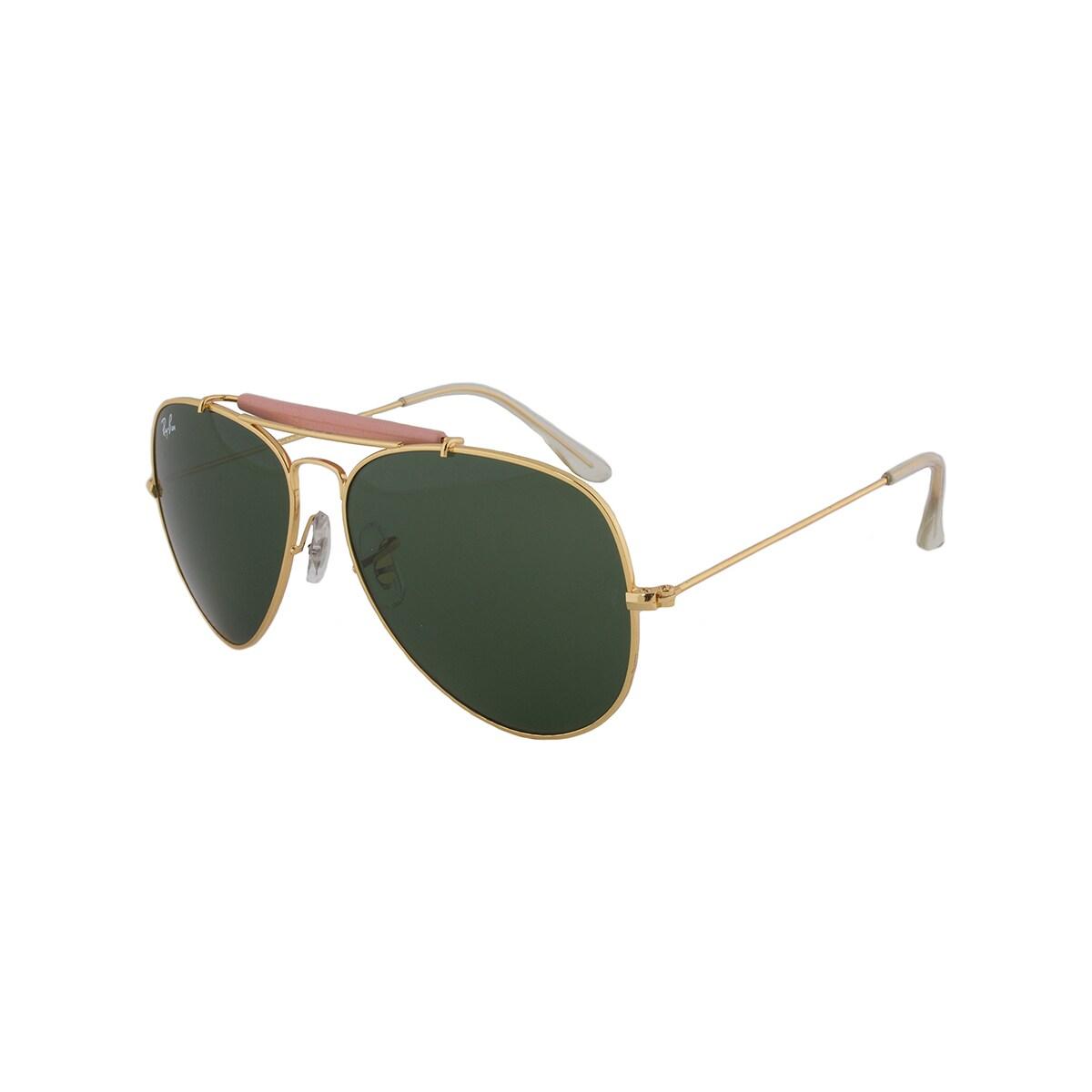 Compre verde clásico gafas Gratis sol oro para Ii Outdoorsman de Rb3029 Marco Envío Hoy lentes de Ban L2112 Ray hombre 10364407 1nrUqP71