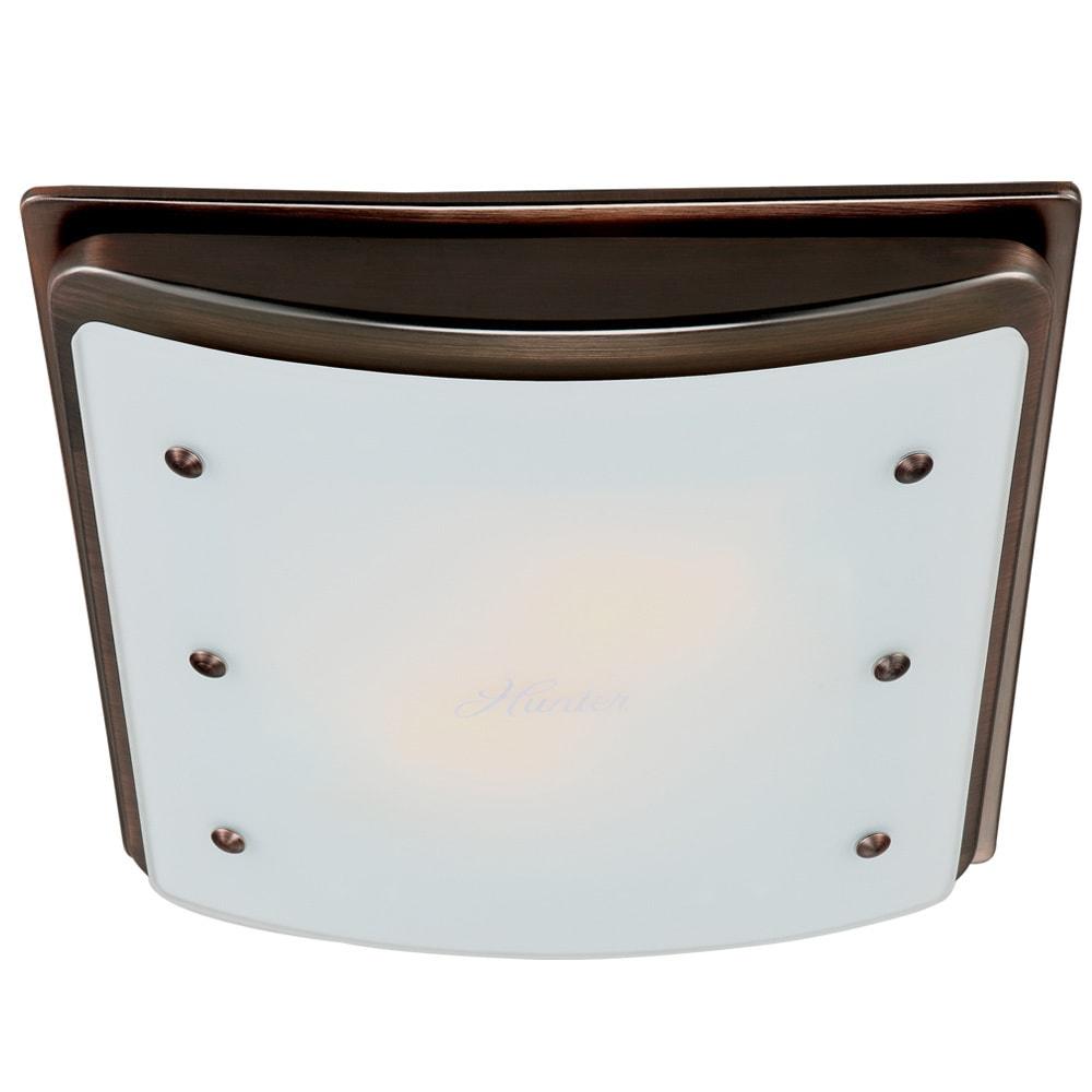 Shop Ellipse Decorative Bath Fan With Light And Night Light NA - Bathroom exhaust fan with light and nightlight