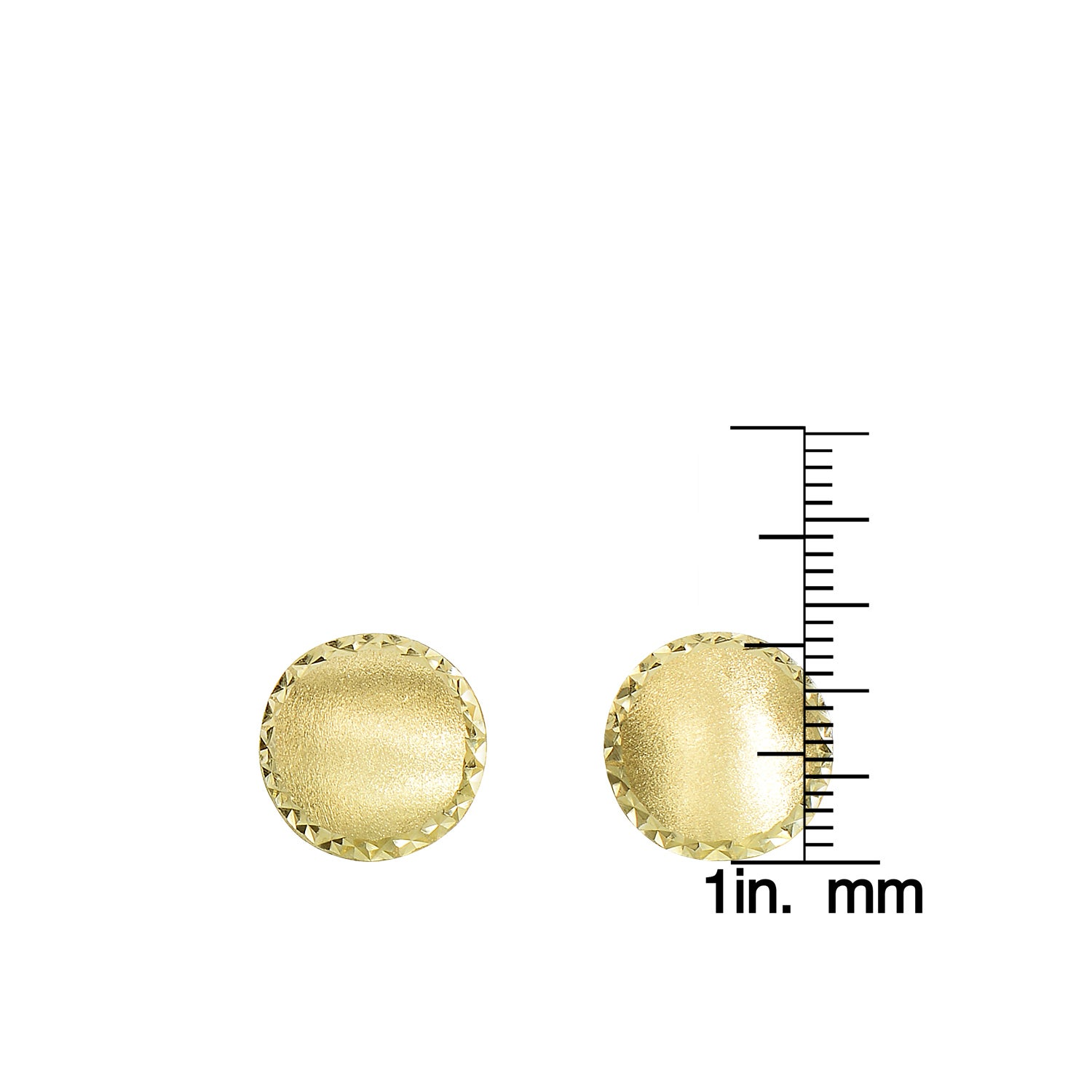 Women s 14k Yellow Gold Stud Earrings Free Shipping Today