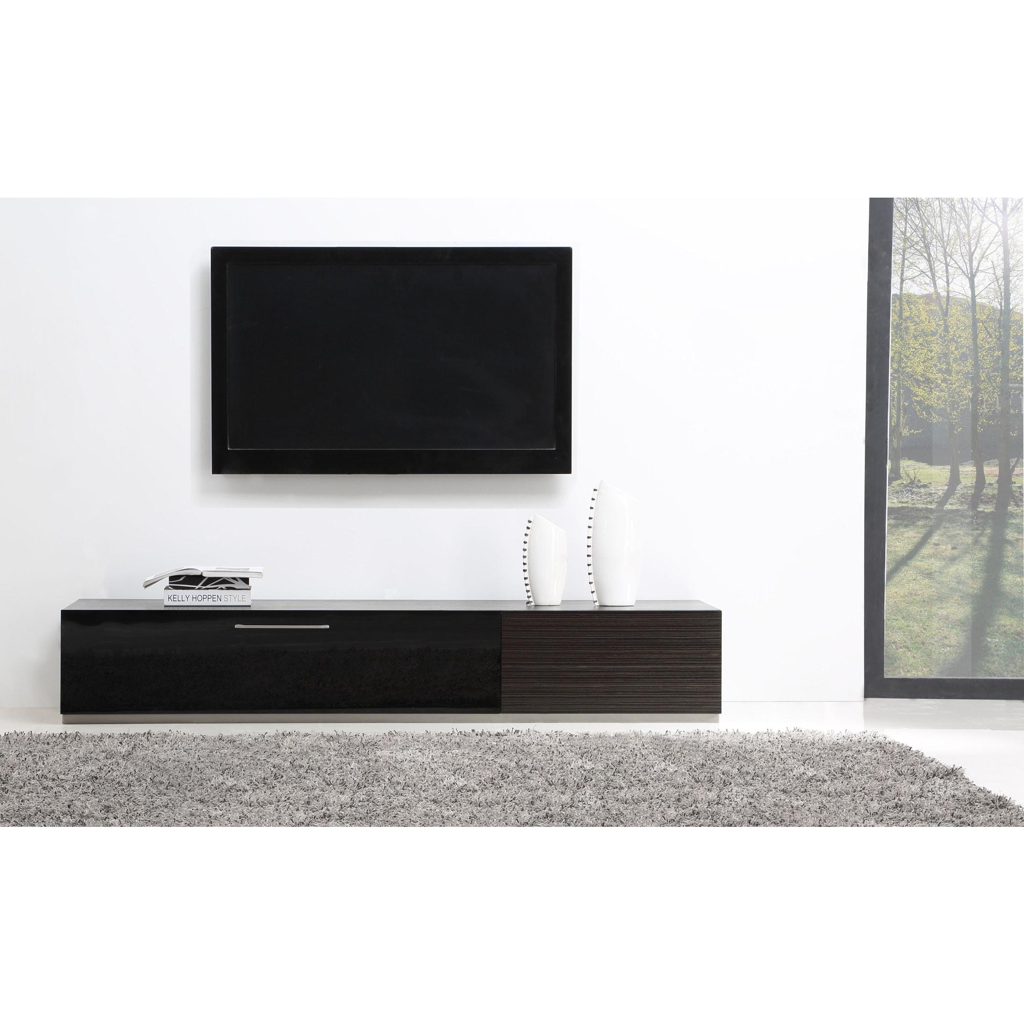Ebony tv stand
