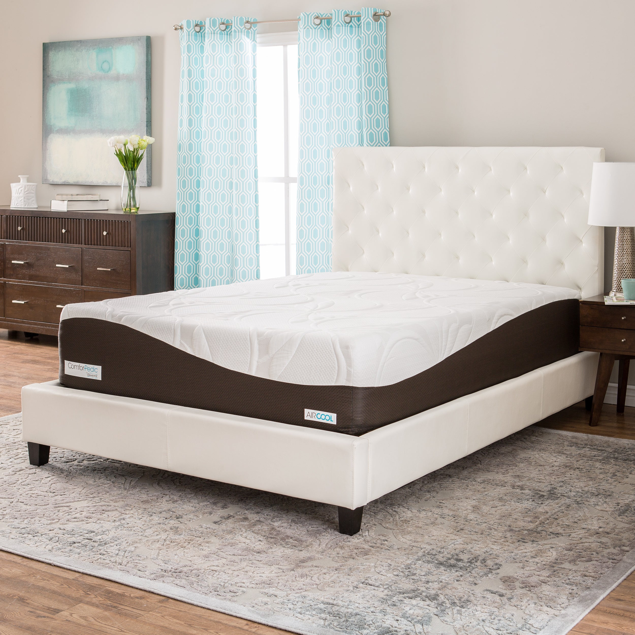 bedding by pedic tempur comforter bodypillow bath shipping the today overstock product comfort free