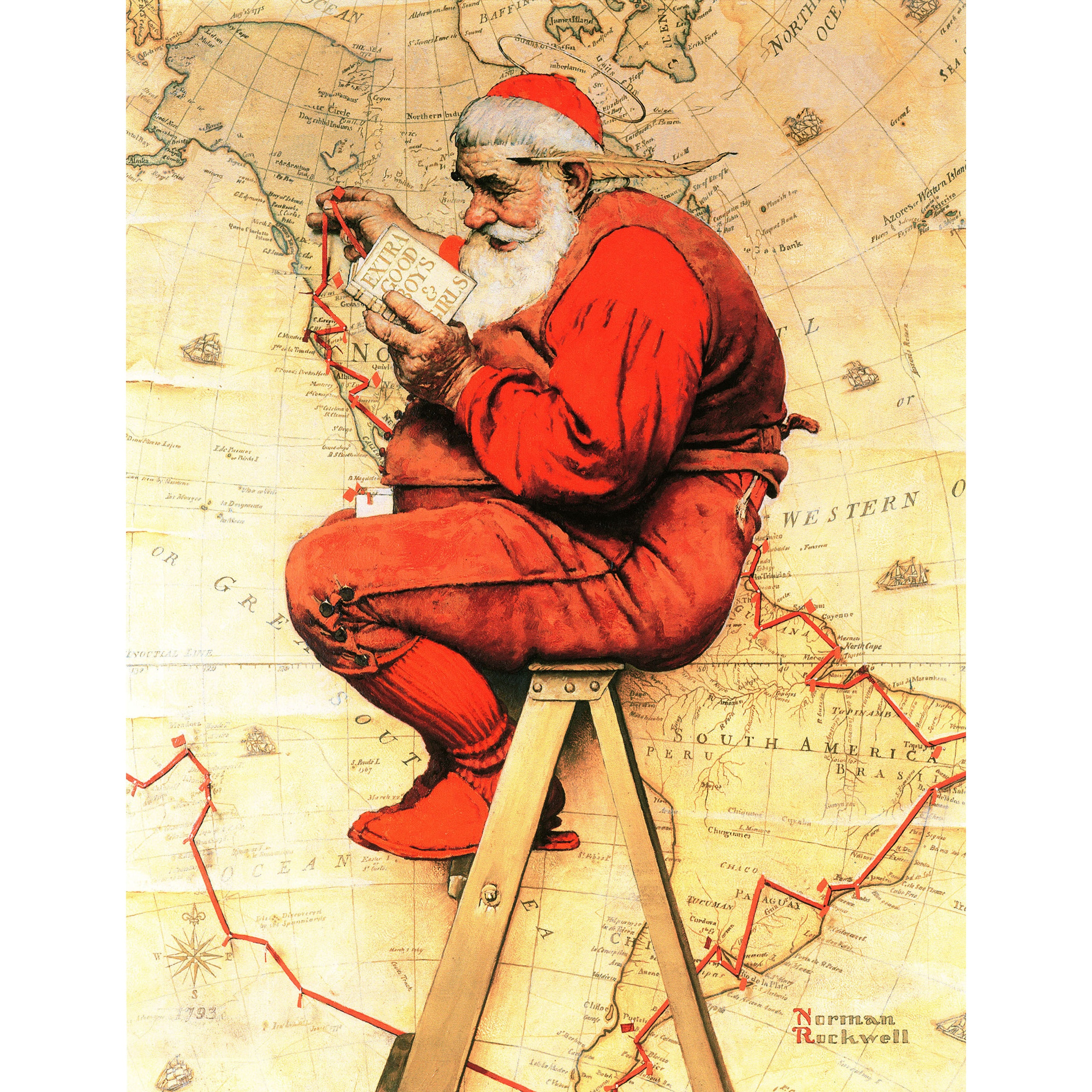 Norman Rockwell Christmas Prints | www.topsimages.com