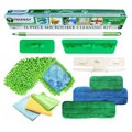 11-piece Microfiber Cleaning Kit - Green