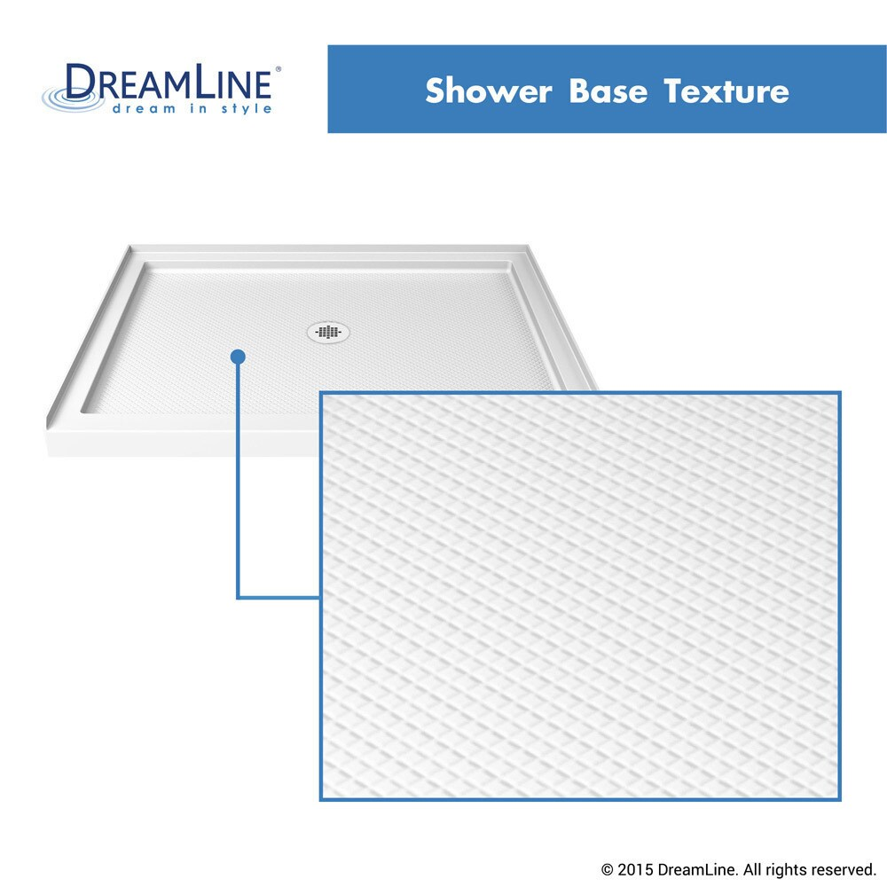 Incroyable Shop DreamLine SlimLine 34 In. By 42 In. Single Threshold Shower Base    Free Shipping Today   Overstock.com   10371600