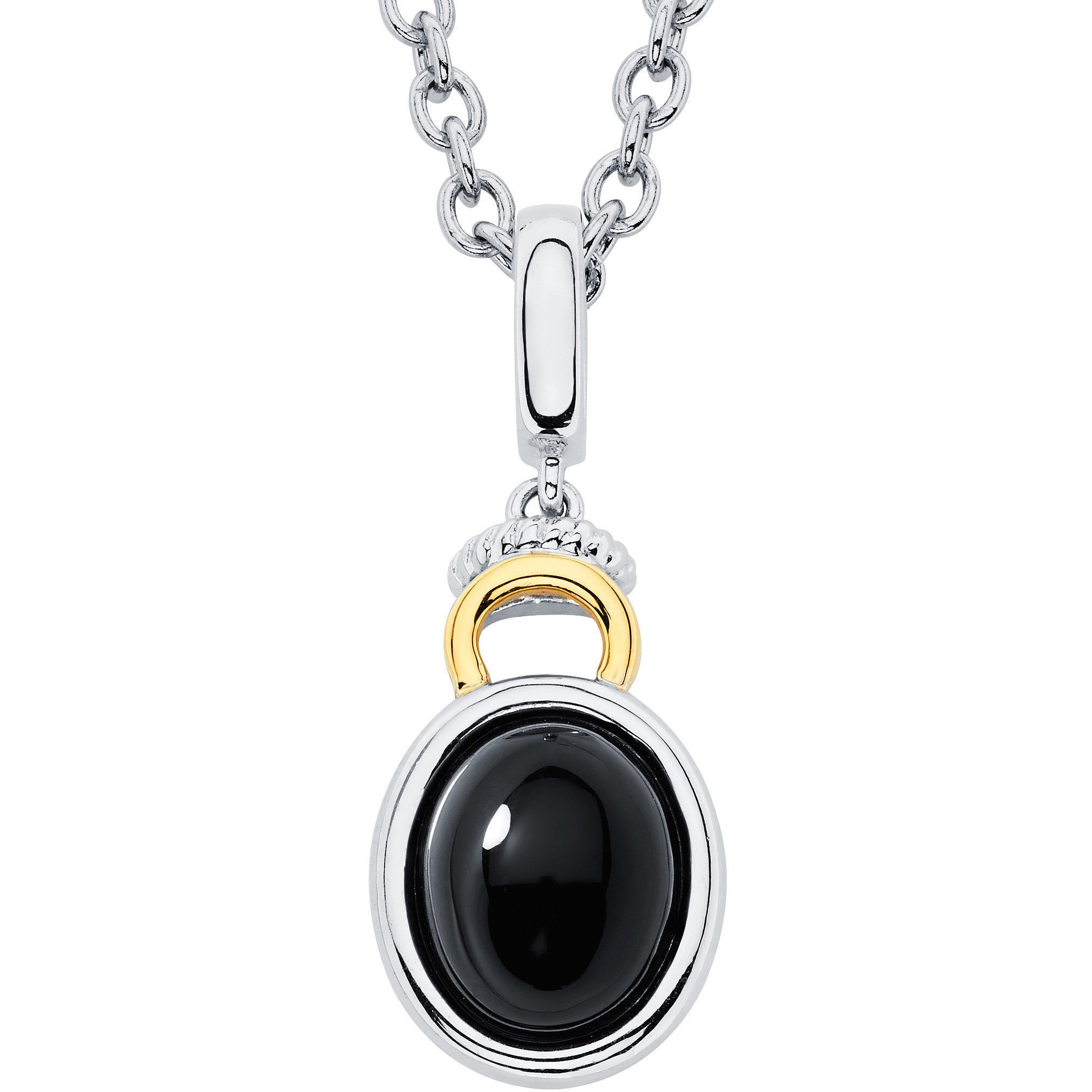 diamonds necklace pendant bruni gold white pasquale jewelry onyx and sissi black