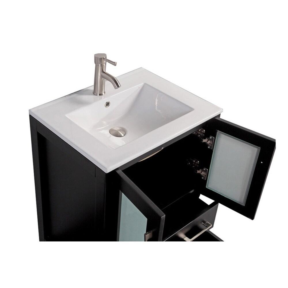 Shop MTD Vanities Argentina 30-inch Single Sink Bathroom Vanity Set ...