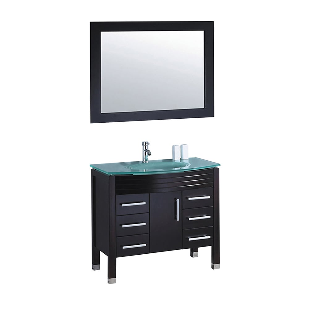 Shop MTD Vanities Figi 36-inch Single Sink Bathroom Vanity Set with ...