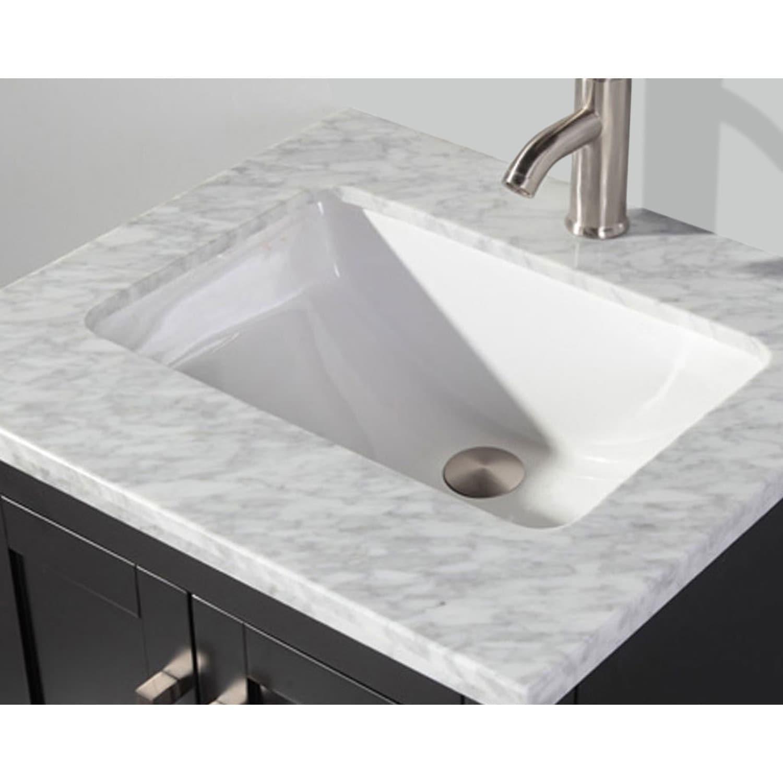 MTD Vanities Ricca 24-inch Single Sink Bathroom Vanity Set with ...