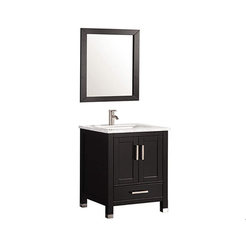 Shop MTD Vanities Ricca 24-inch Single Sink Bathroom Vanity Set with ...