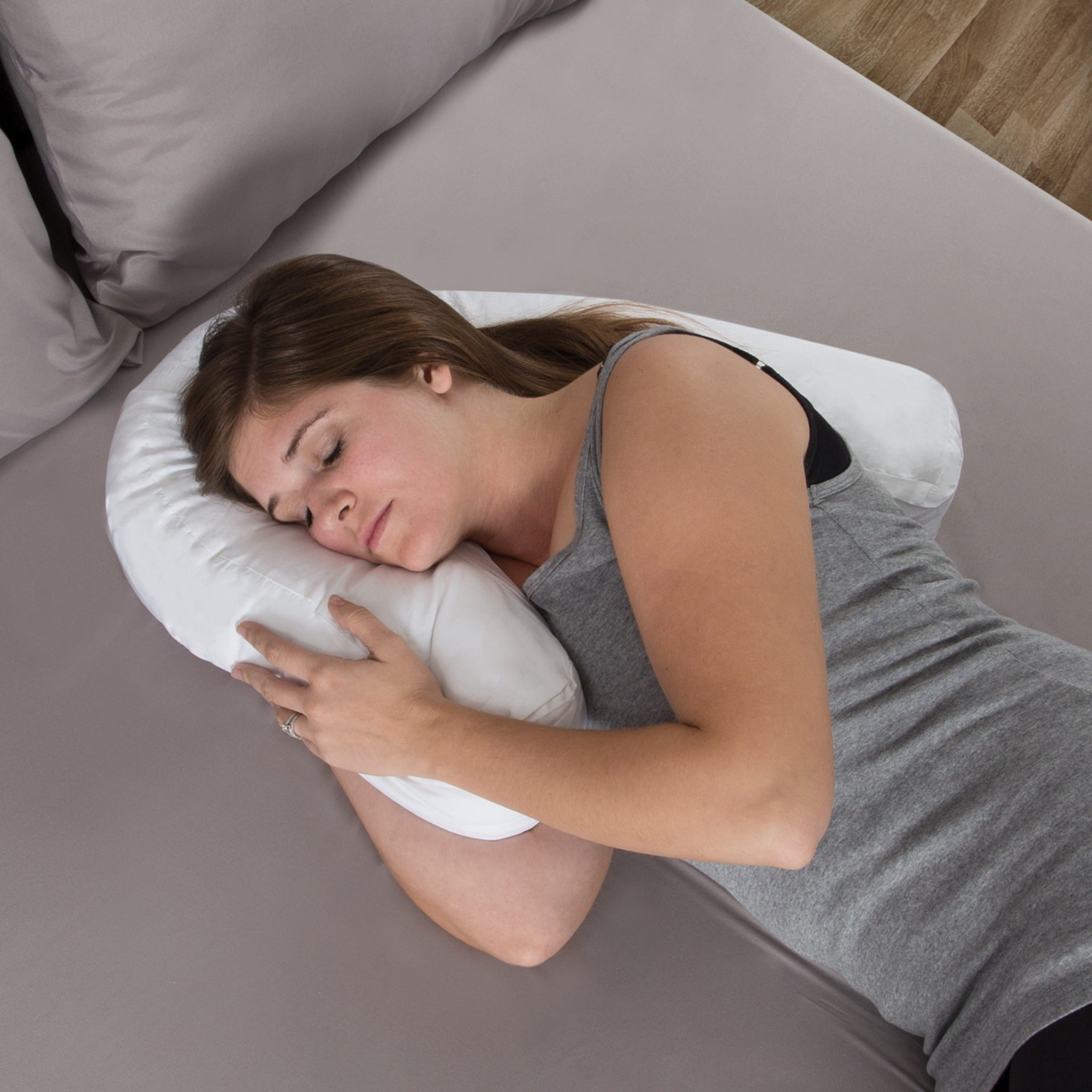 Windsor Home Side Sleeper Contour Pillow White On Free Shipping Orders Over 45 10379307