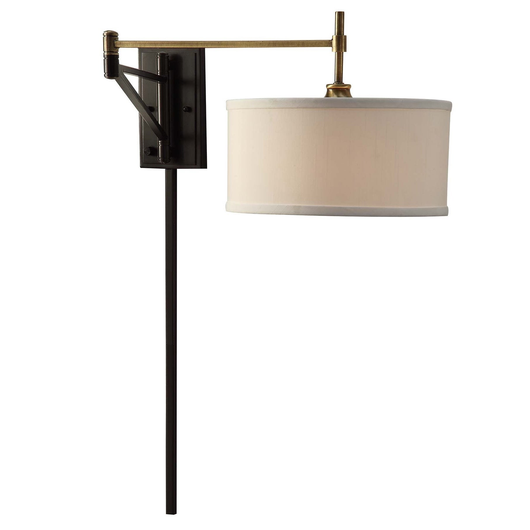 Shop Black Friday Deals On I Love Living Antique Brass And Bronze Swing Arm Wall Sconce Fixture Overstock 10379622