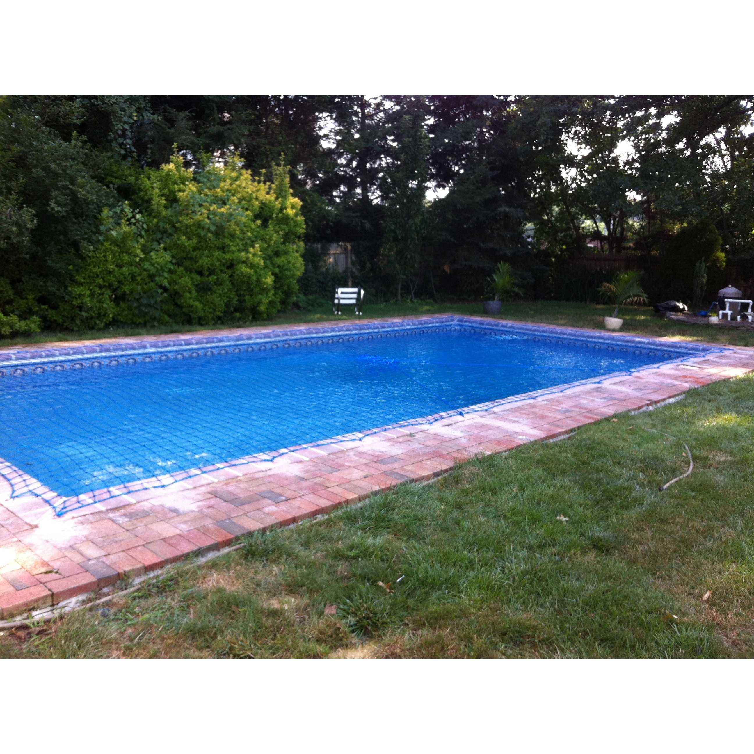 Water Warden Pool Safety Net For In Ground Up To 26 X 40 Free Shipping Today 10379678