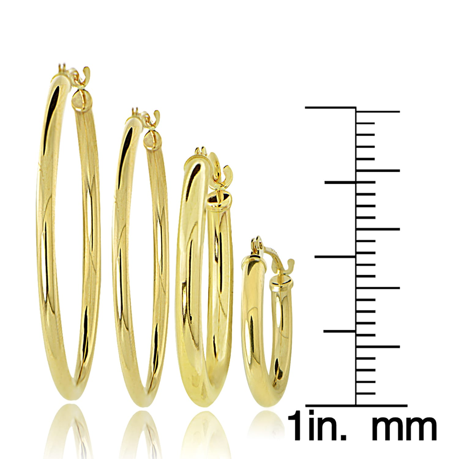hoops ye gold earrings diamond