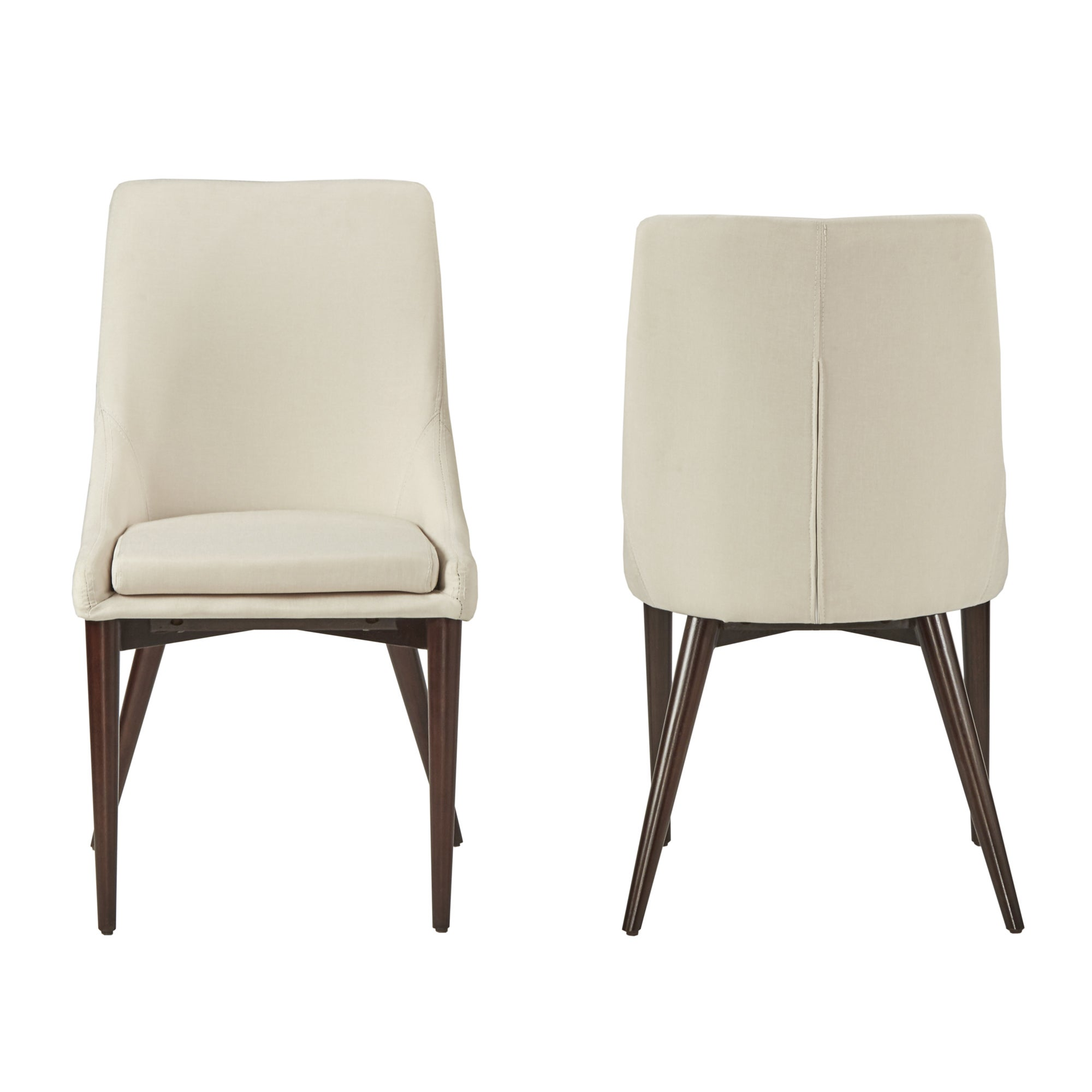 Bon Shop Sasha Mid Century Barrel Back Dining Chairs (Set Of 2) By INSPIRE Q  Modern   Free Shipping Today   Overstock.com   10390630