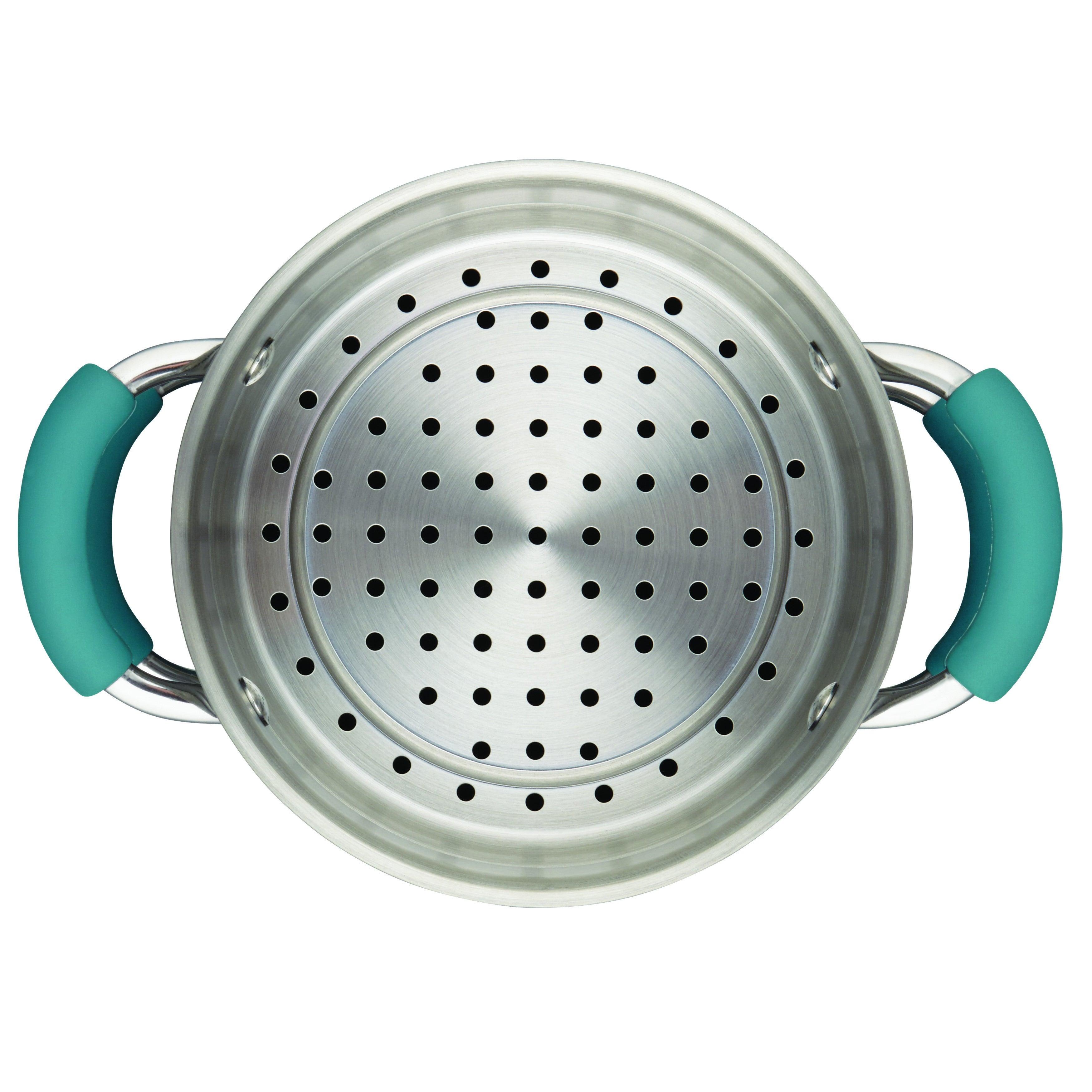 Rachael Ray Cucina Hard Enamel Nonstick 3-quart Covered Multi-pot ...