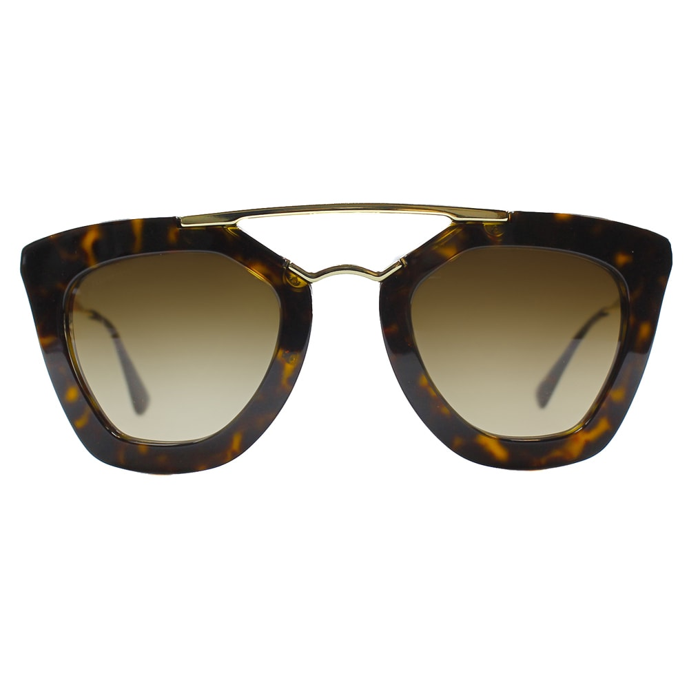 af76ad27ef ... order shop prada womens cinema pr 09qs 2au6s1 havana cat eye sunglasses  free shipping today overstock