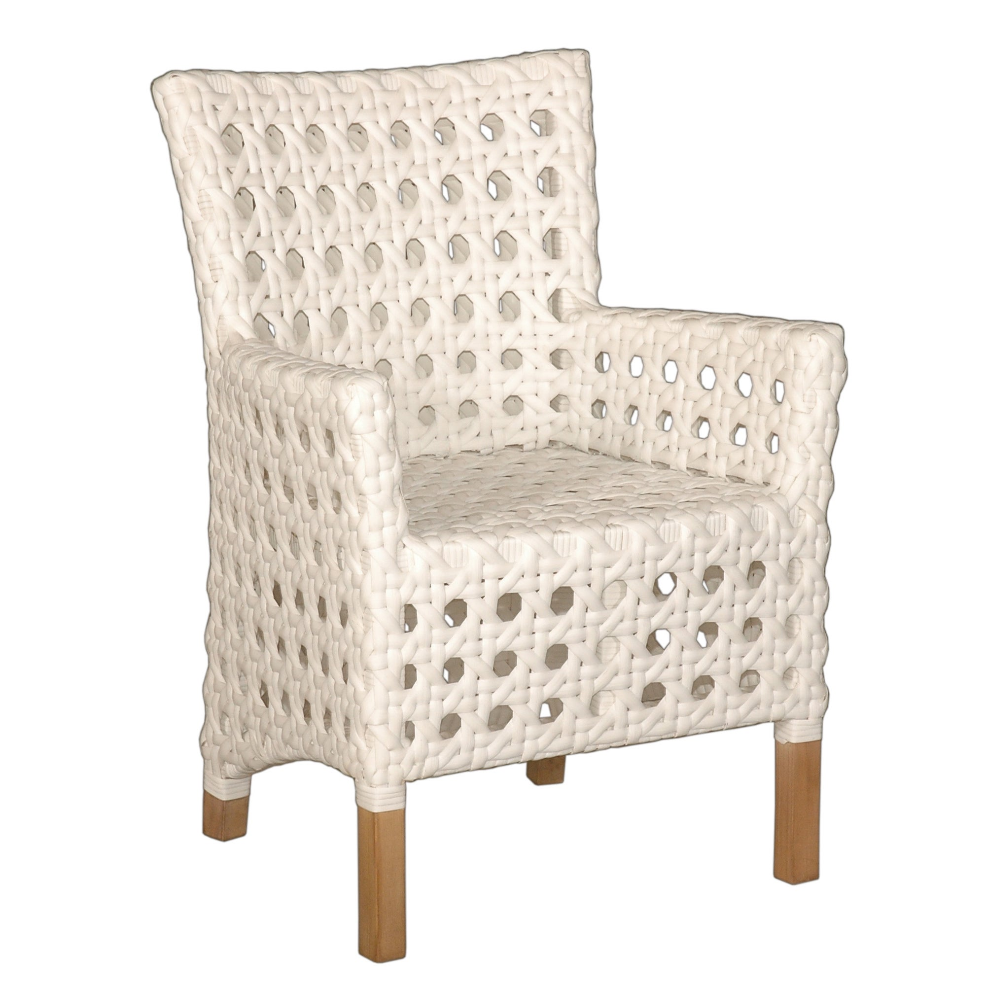 Shop east at mains decorative sacramento white modern indoor outdoor chair free shipping today overstock com 10395825