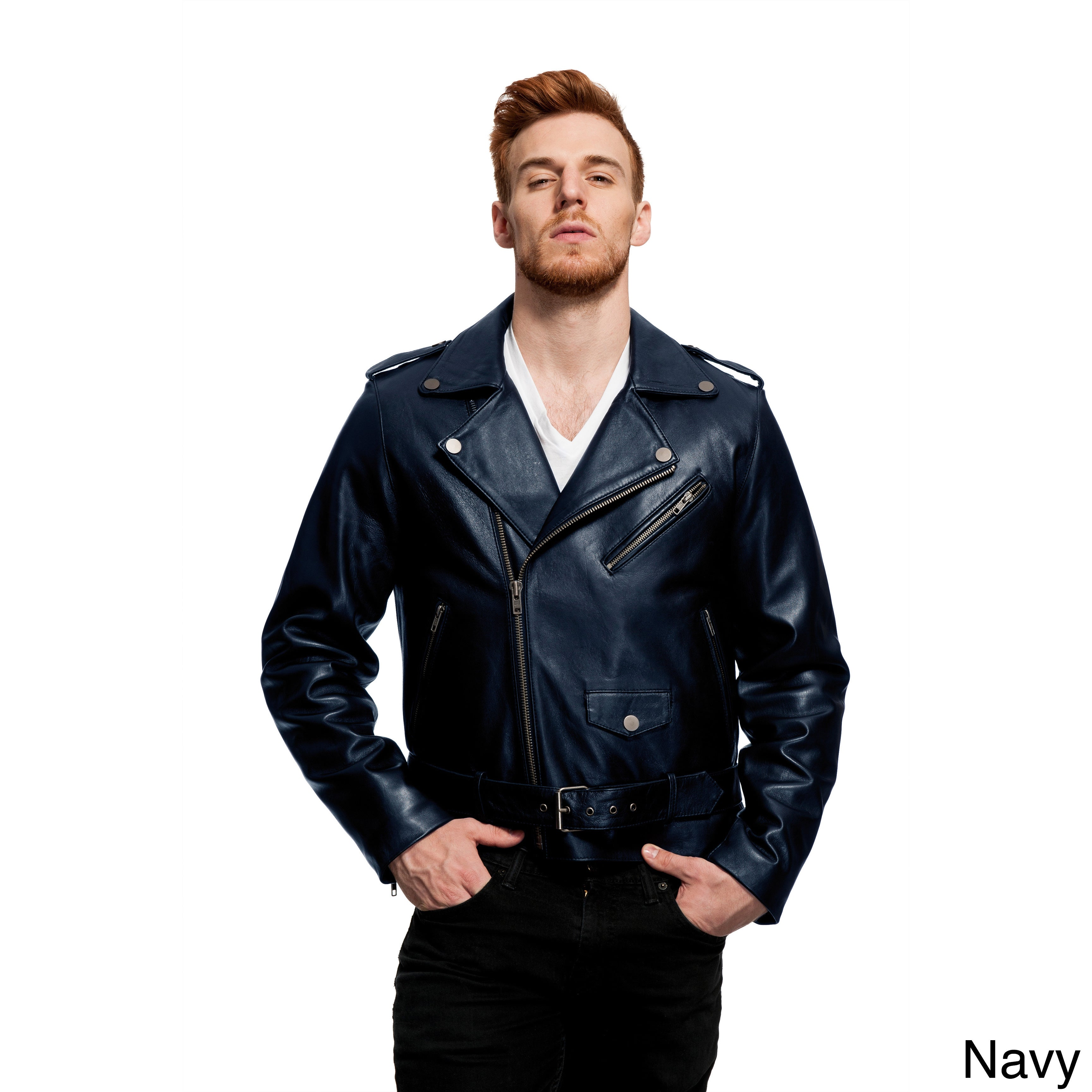 640c46e8b Mason & Cooper Bane Leather Jacket