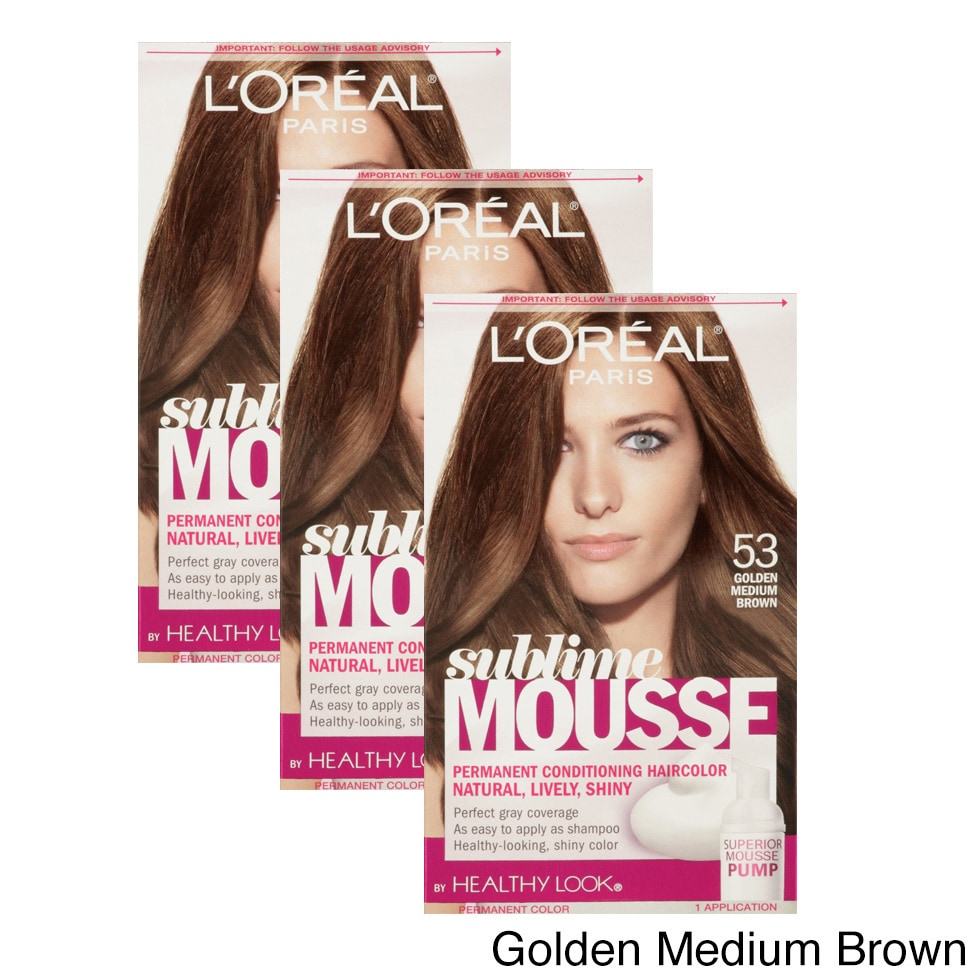 Shop Loreal Paris Healthy Look Sublime Mousse Free Shipping On