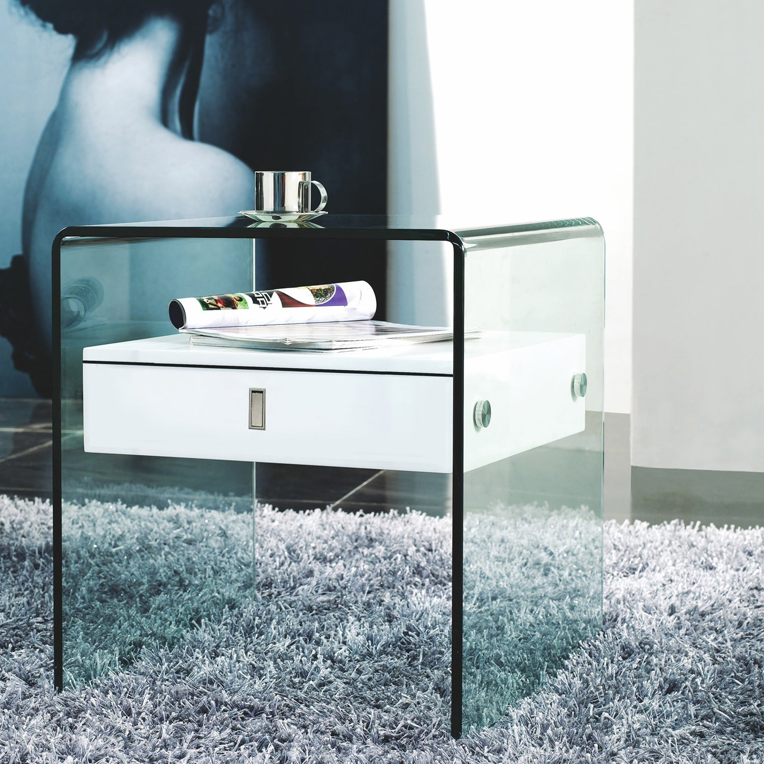 Shop BARI Collection Nightstand / End Table by Casabianca Home - On ...