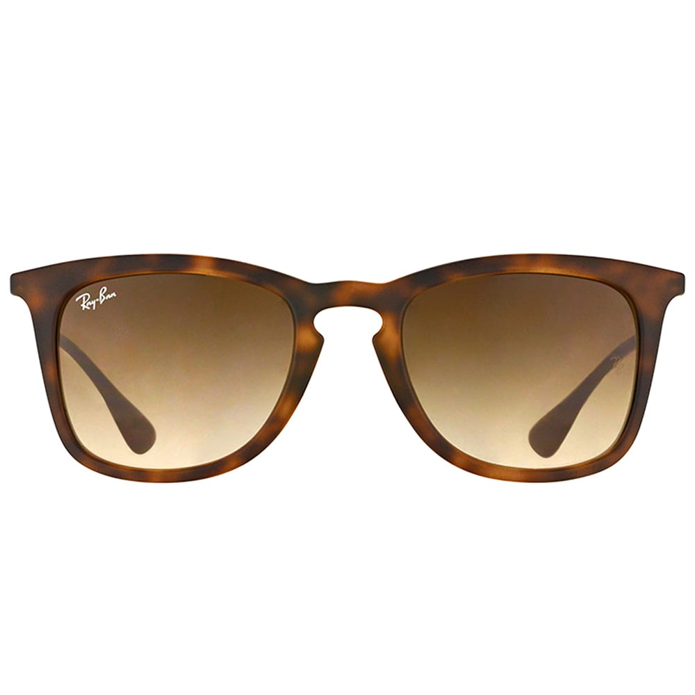 331e0f96da Shop Ray-Ban Unisex RB 4221 865 13 Dark Havana Rubber Sunglasses - Brown -  Free Shipping Today - Overstock - 10397274