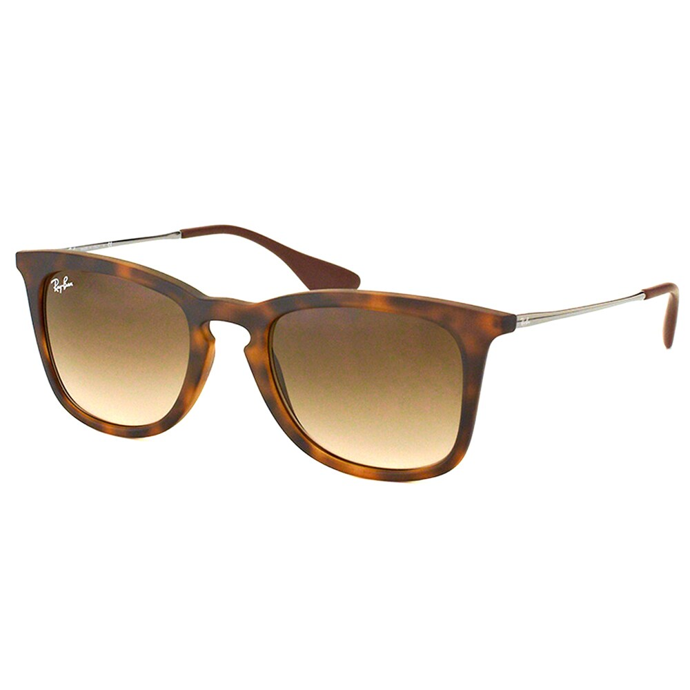 182452e90b0 Shop Ray-Ban Unisex RB 4221 865 13 Dark Havana Rubber Sunglasses - Brown -  Free Shipping Today - Overstock - 10397274