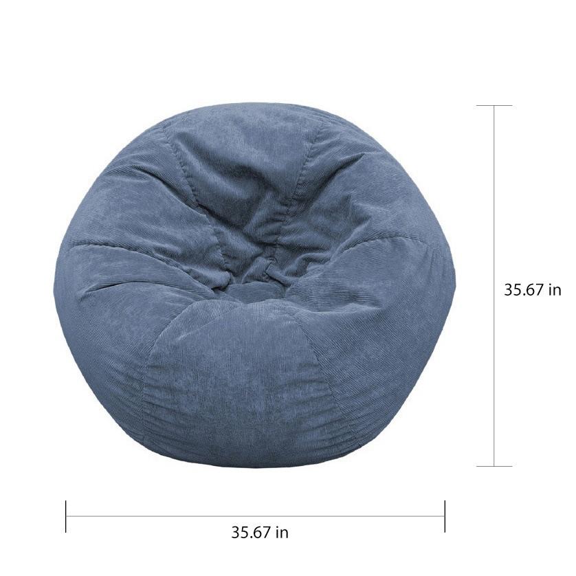 Corduroy Bean Bag Chairs | Tyres2c