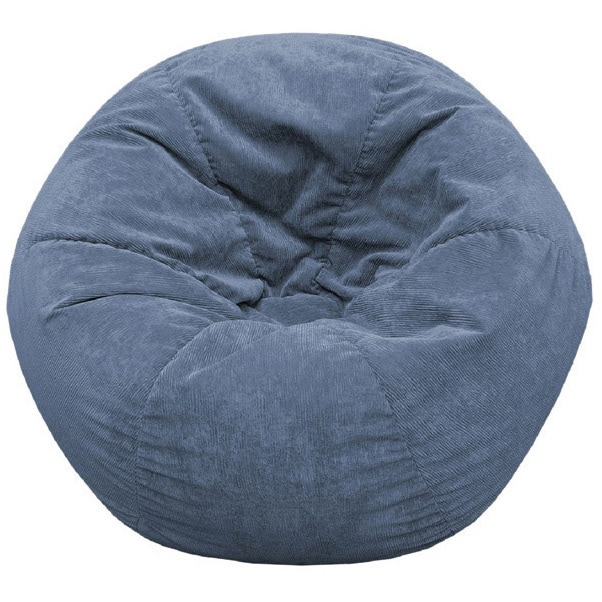 Gold Medal Adult Sueded Corduroy Bean Bag Chair   Free Shipping Today    Overstock.com   1007819