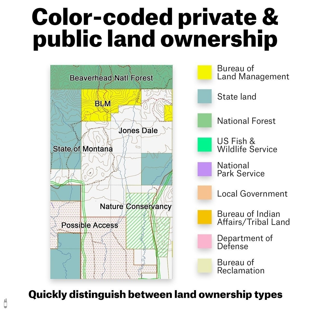 OnX Hunt North Dakota PublicPrivate Land Ownership K Topo Maps - Nd land ownership map