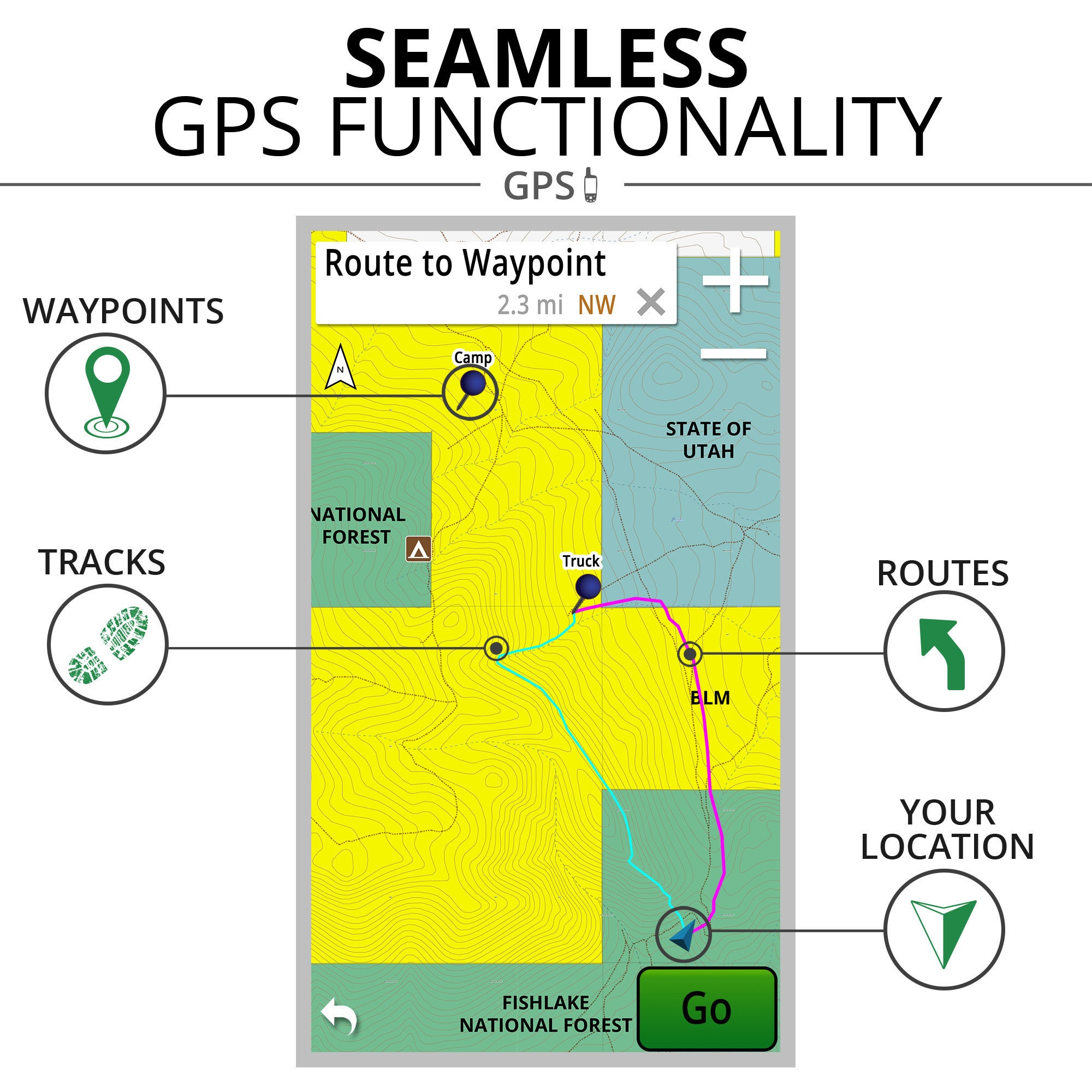 onXmaps ROAM North Rockies 24k Topo Maps Micro SD Card for Garmin GPS  (Covers Montana, Idaho, Wyoming)