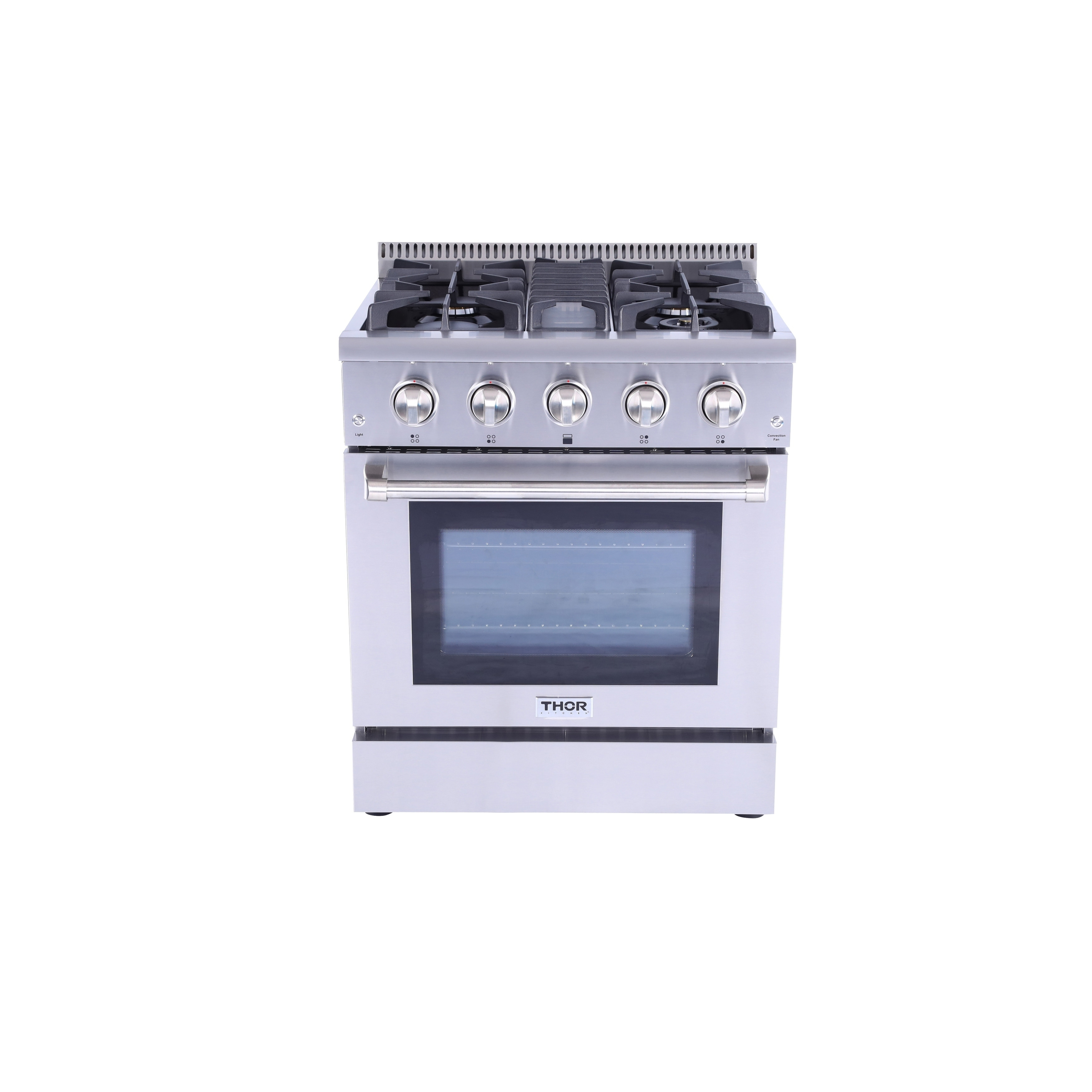 Thor Kitchen 30 Inch Stainless Steel Professional Gas Range With 4 Burners