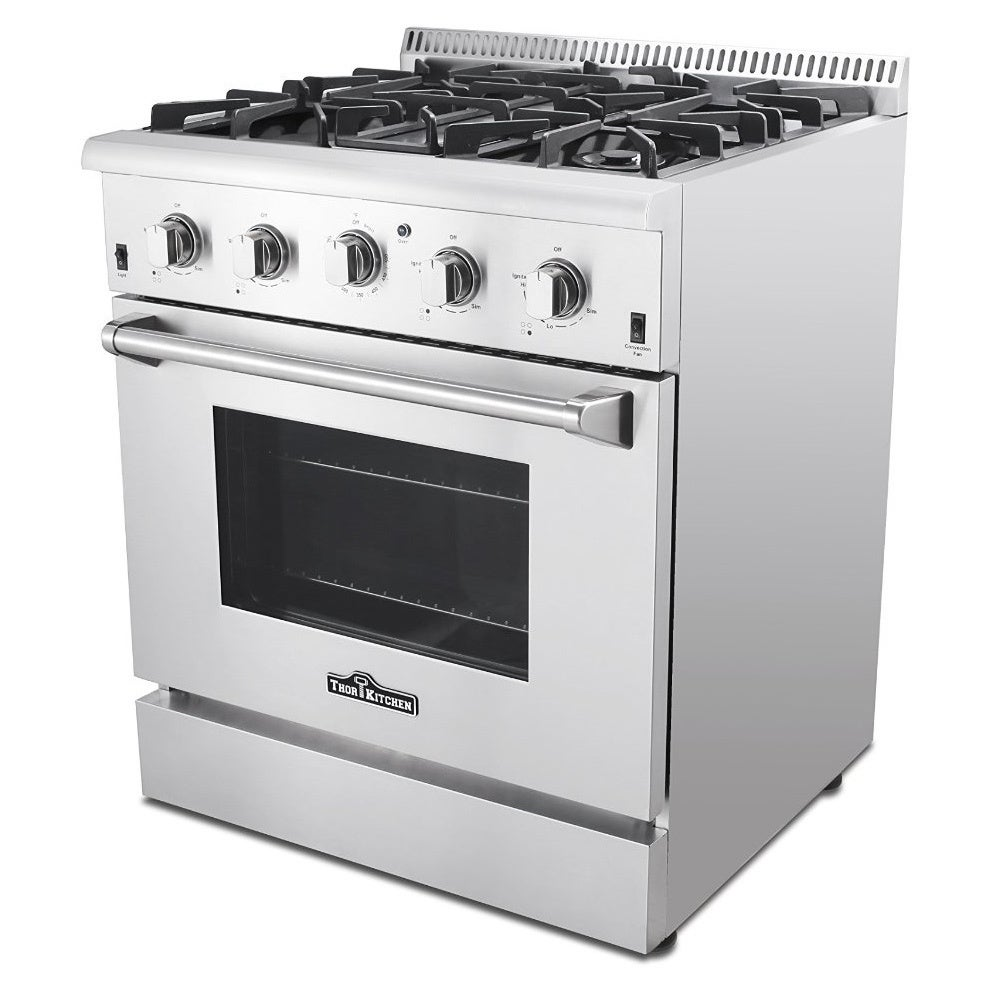 Thor Kitchen 30 Inch Stainless Steel Professional Gas Range With 4 Burners    Free Shipping Today   Overstock.com   17503501