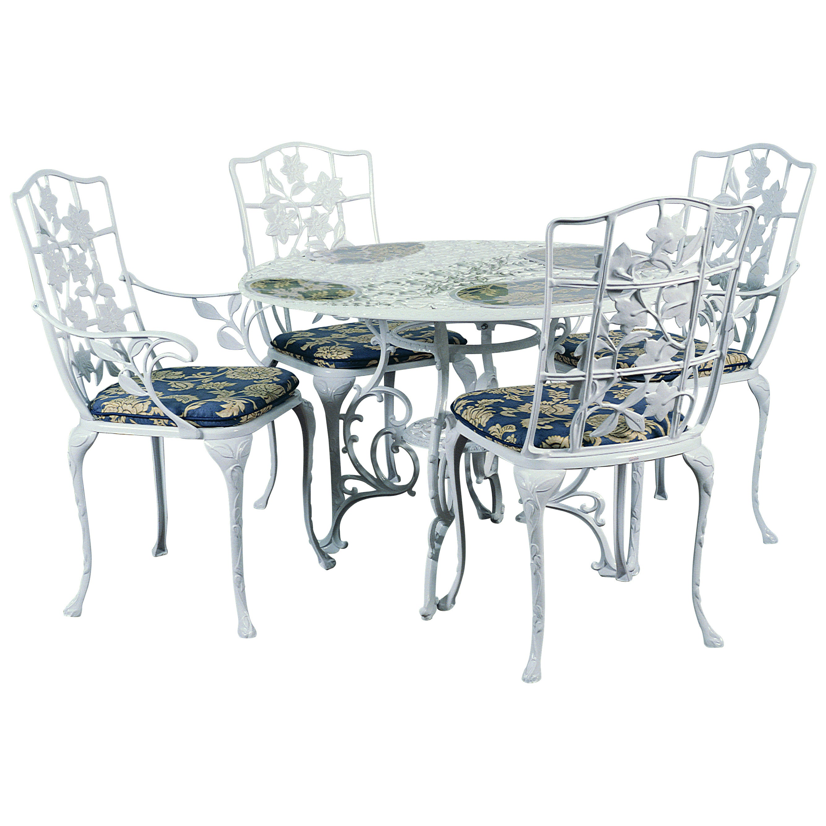 Shop Bosmere Deluxe Weatherproof 84 Inch Tall Round Cafe Patio Set