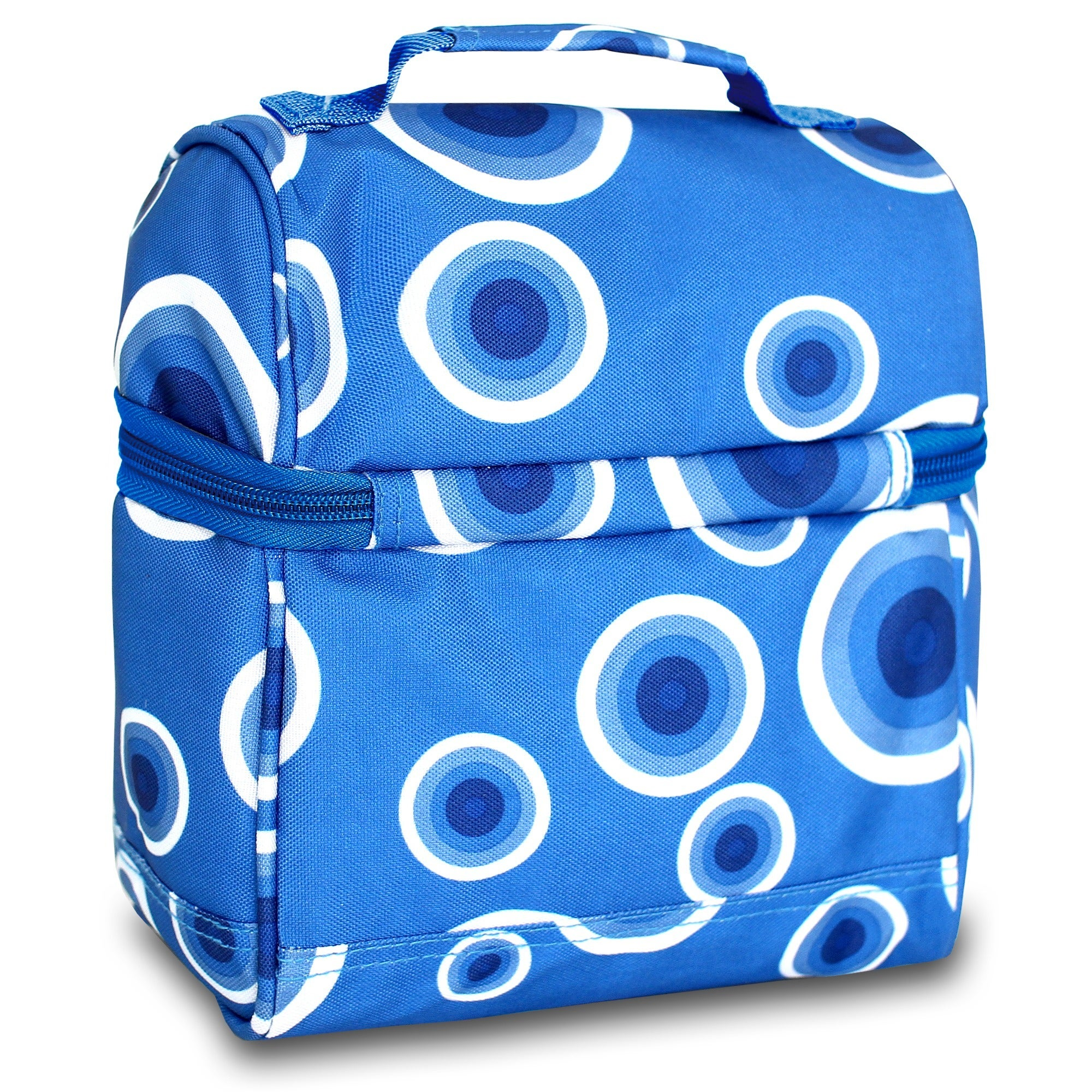 Shop J World Target Blue Corey Lunch Bag - Free Shipping On Orders Over  45  - Overstock.com - 10404325 37c16dd4cf