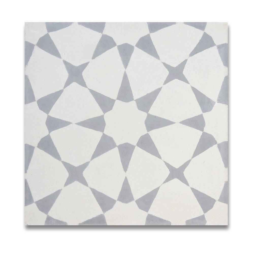 Medina grey and white handmade moroccan 8 x 8 inch cement and medina grey and white handmade moroccan 8 x 8 inch cement and granite floor or wall tile case of 12 free shipping today overstock 17506738 dailygadgetfo Choice Image