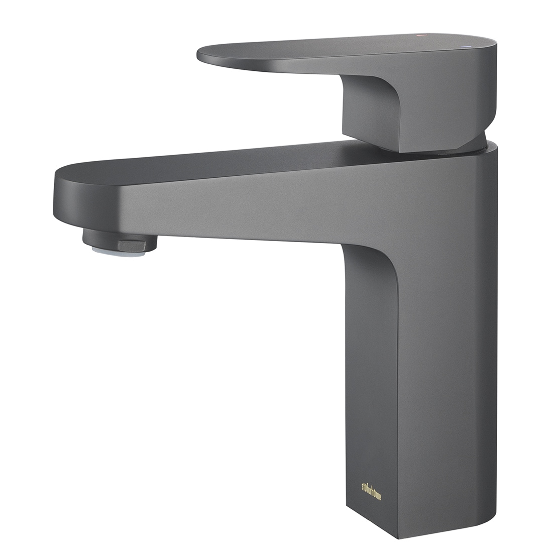 matte black faucet. Shop Stufurhome Jackson 1.2 GPM Single Hole Single-lever Matte Black Faucet - Free Shipping Today Overstock.com 10406491