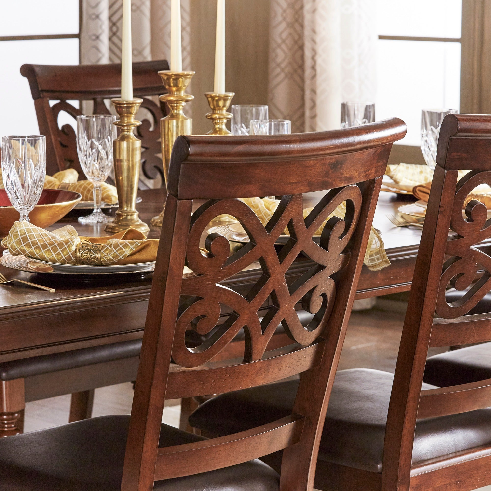 Shop Emma Catherine Cherry Dining Chairs (Set Of 2) By INSPIRE Q Classic    On Sale   Free Shipping Today   Overstock.com   10410089