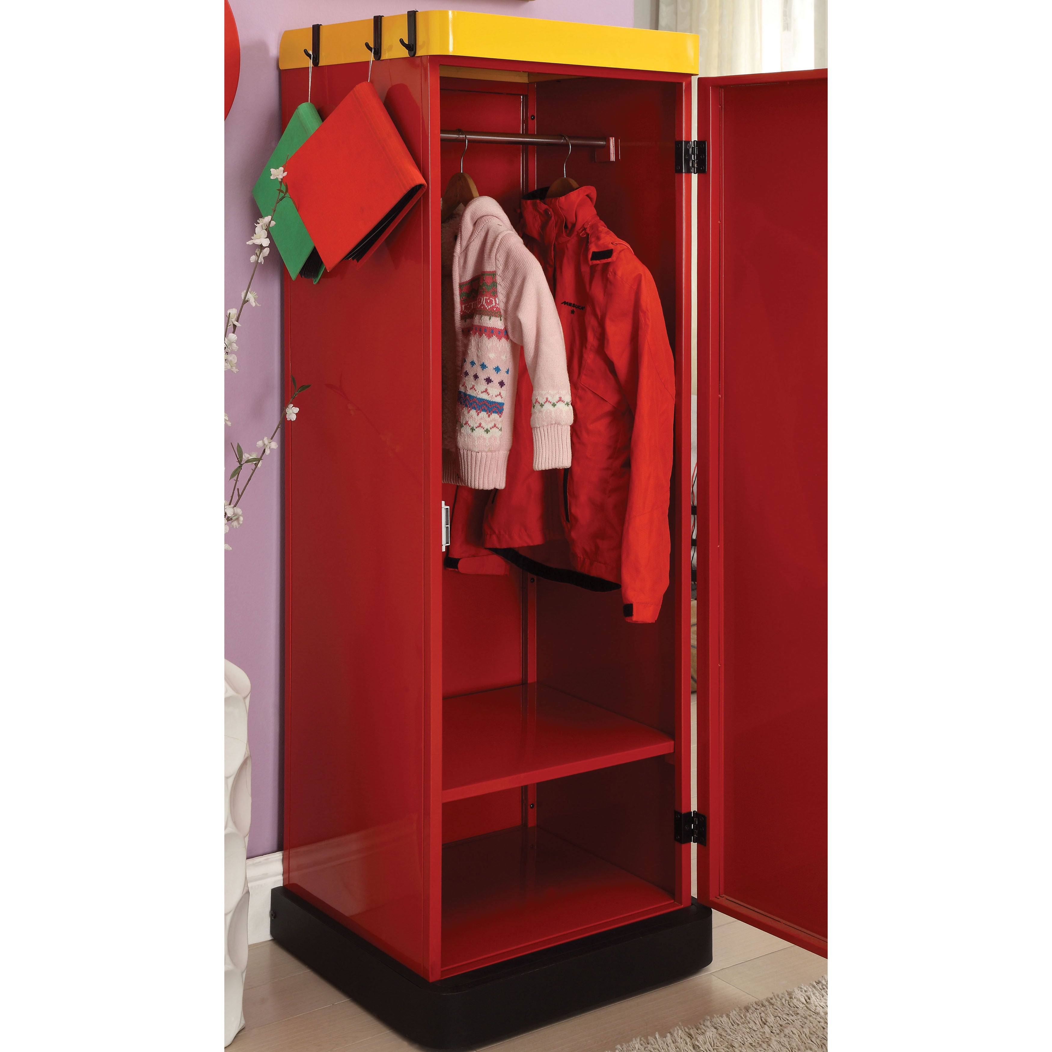 portable metal index img views steel color beige finish collapsible cbeeso wardrobes wardrobe carbon more