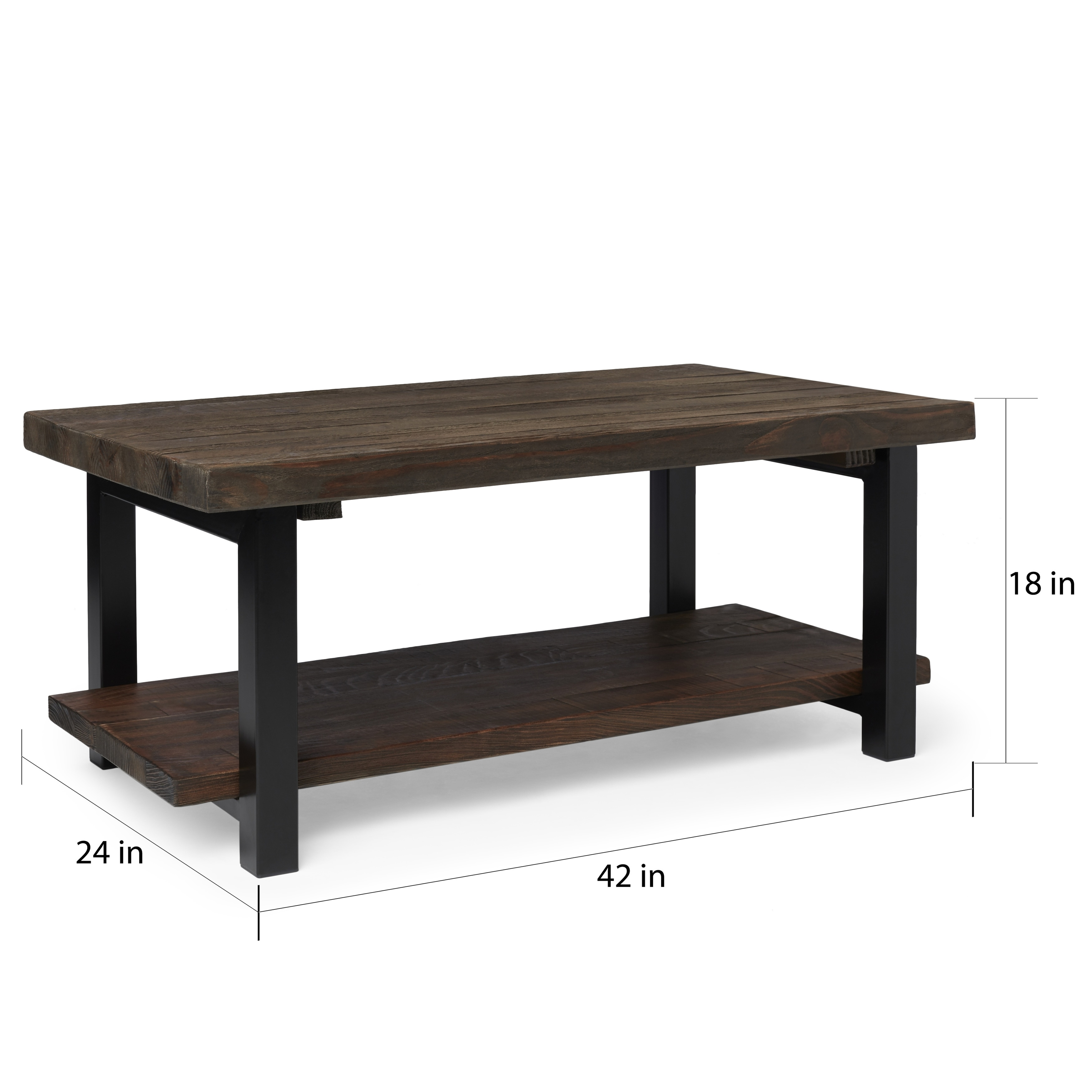 Shop The Gray Barn Michaelis Reclaimed Wood 42 Inch Coffee Table   On Sale    Free Shipping Today   Overstock.com   20306435