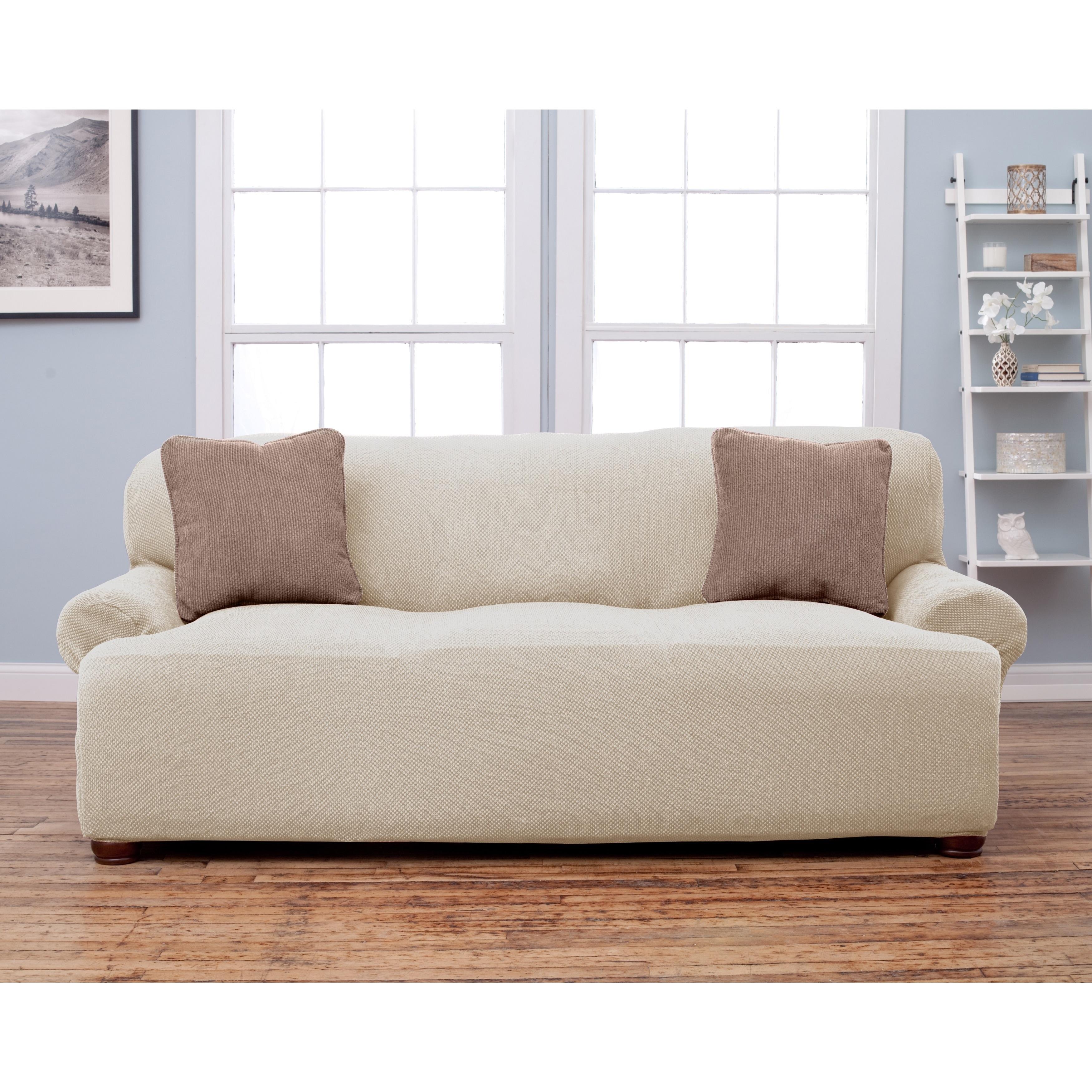 Shop Home Fashion Designs Stretch Sofa Slipcover - Free Shipping On ...