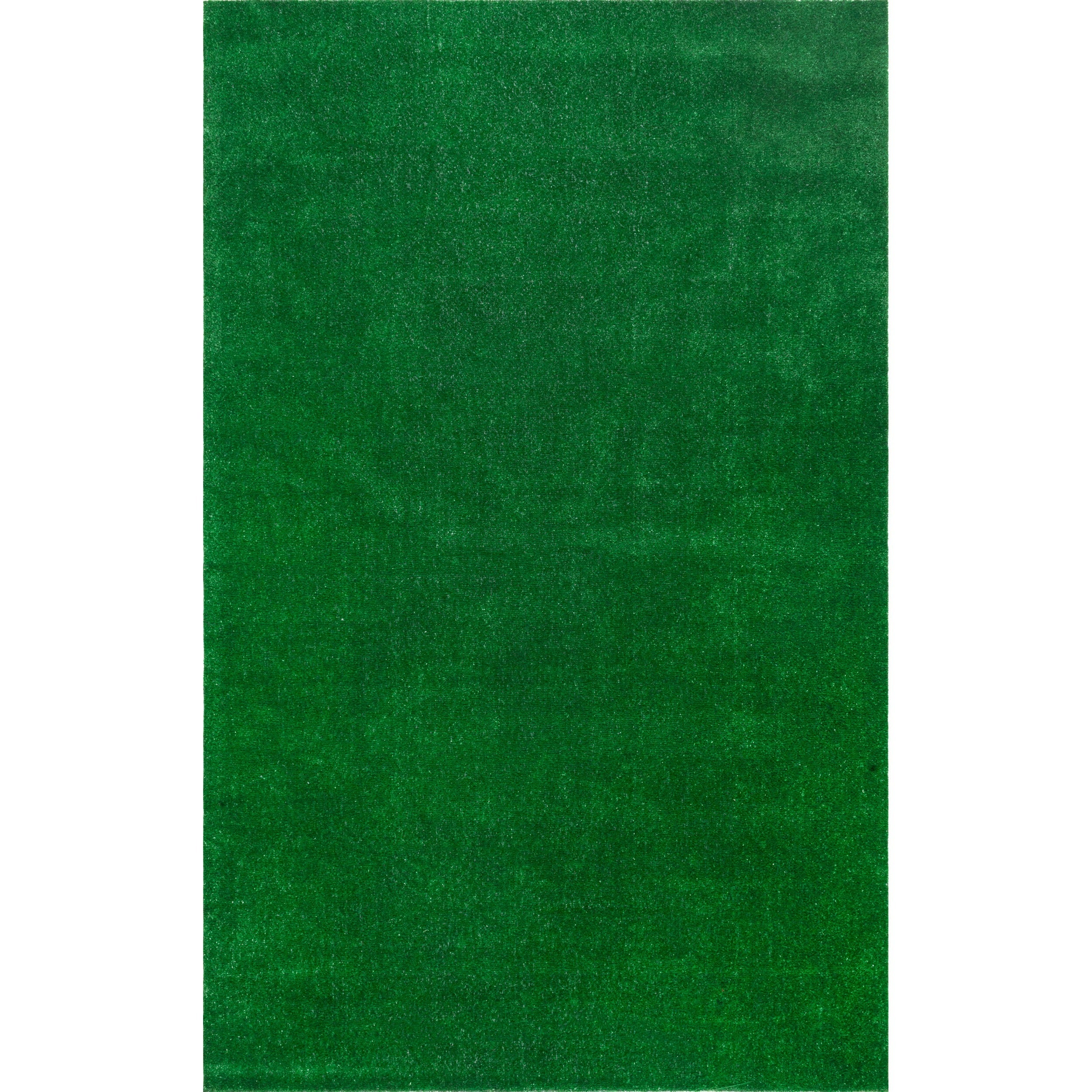 NuLOOM Artificial Grass Outdoor Lawn Turf Green Patio Rug (5u0027 X 8u0027)   Free  Shipping Today   Overstock   17513439