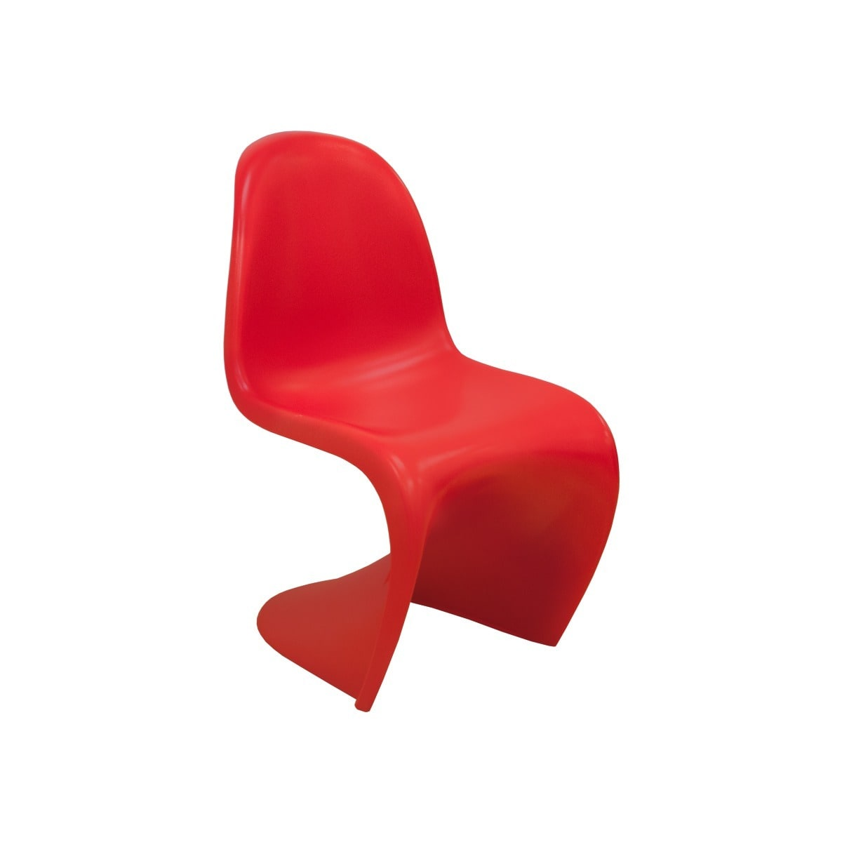 Shop Mod Made Stackable Plastic U0027Su0027 Shape Dining Side Chair   Free Shipping  Today   Overstock.com   10416300