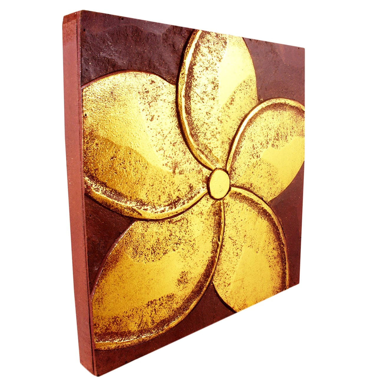 Handmade Jepun Flower Wall Panel (Indonesia) - Free Shipping On ...