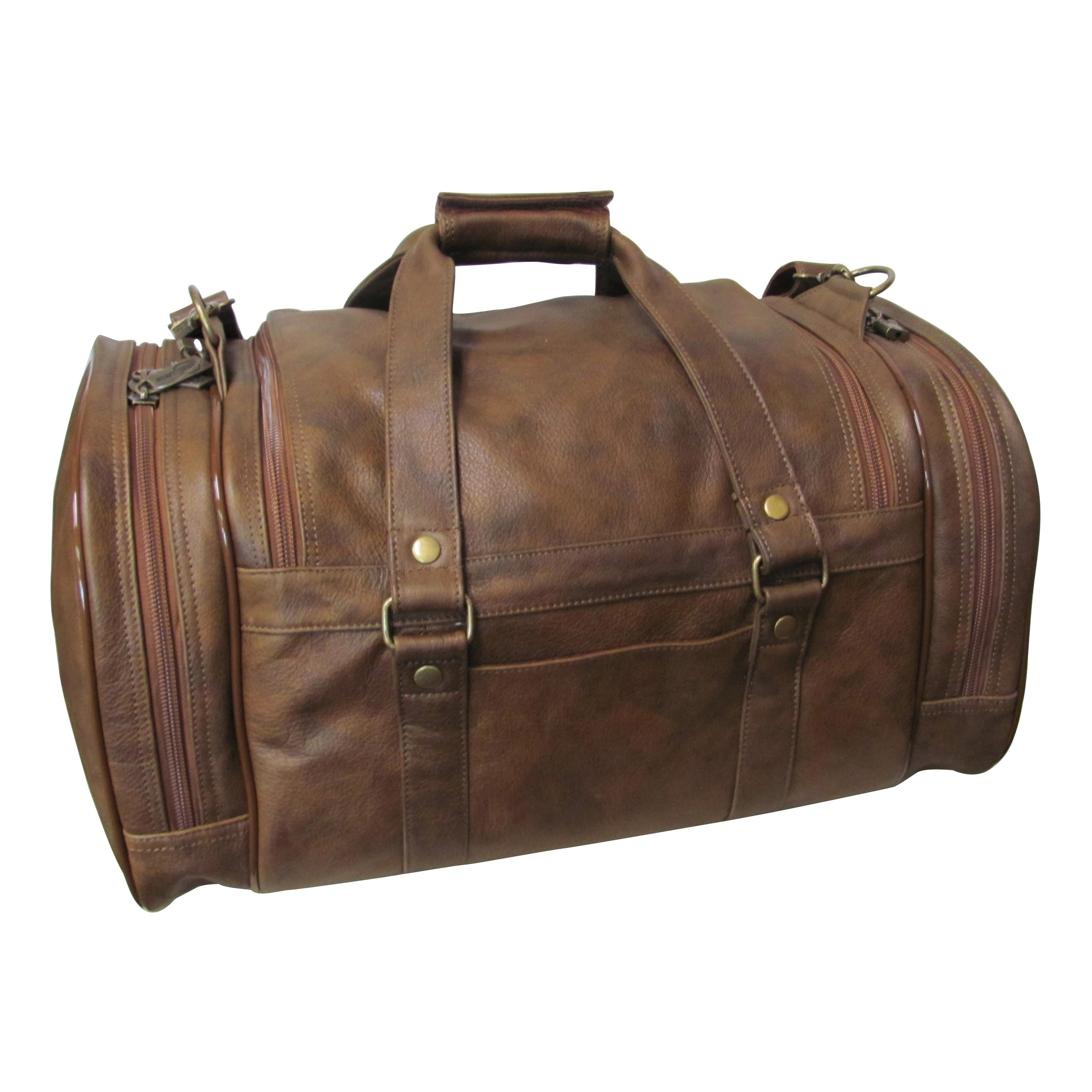 Amerileather 22 Inch Jumbo Carry On Duffel Bag Free Shipping Today 10423238