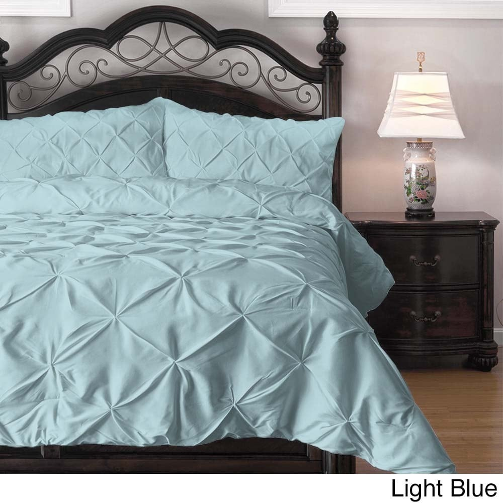 piece pleat pinch lightweight bedroom and new white pleated cozy comforter pinched set index
