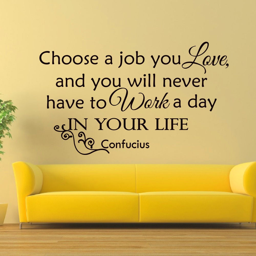 Confucius Quote Vinyl Wall Art Decal Sticker - Free Shipping On ...