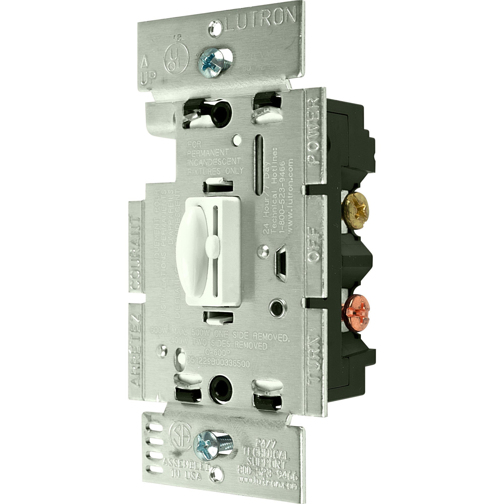 Shop Quoto 3 Way Dimmer Switch 600w By Lutron On Sale Free Electronic Shipping Orders Over 45 10426471