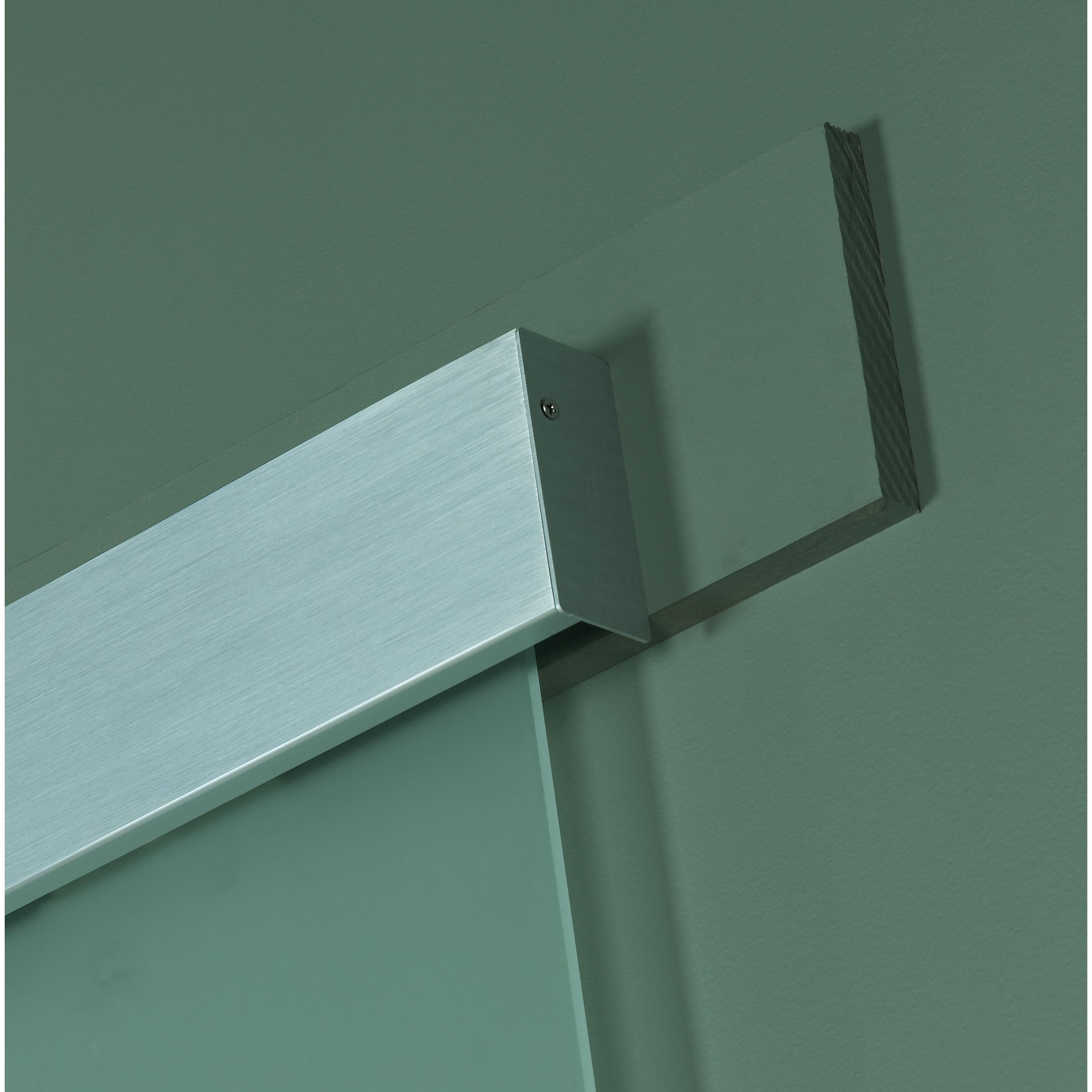 Shop Opaque Glass Barn Door (30x96) - Free Shipping Today ...