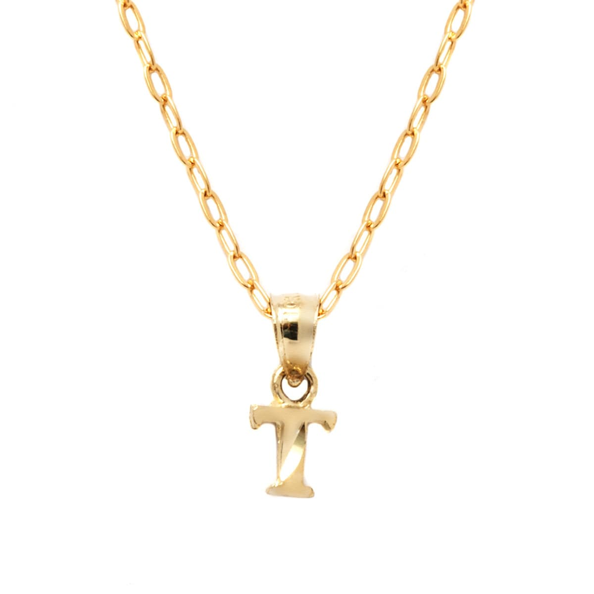 abcde letter deco product necklace gold wndrlnd personalised pendant initial small
