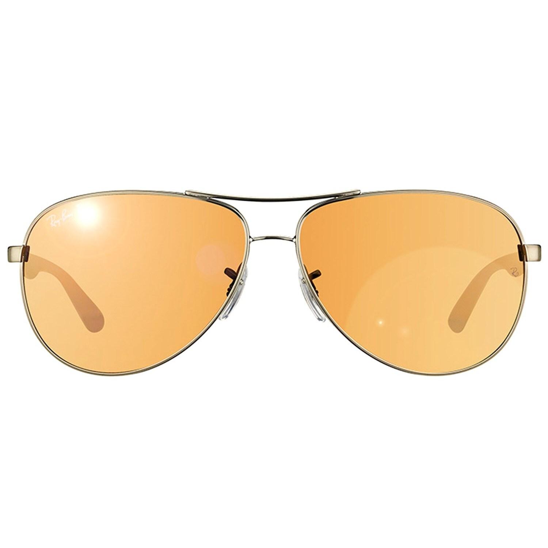 e216588365e Shop Ray-Ban Tech RB8313 Unisex Shiny Gunmetal Carbon Fiber Frame Rose Lens  Sunglasses - Free Shipping Today - Overstock - 10430722